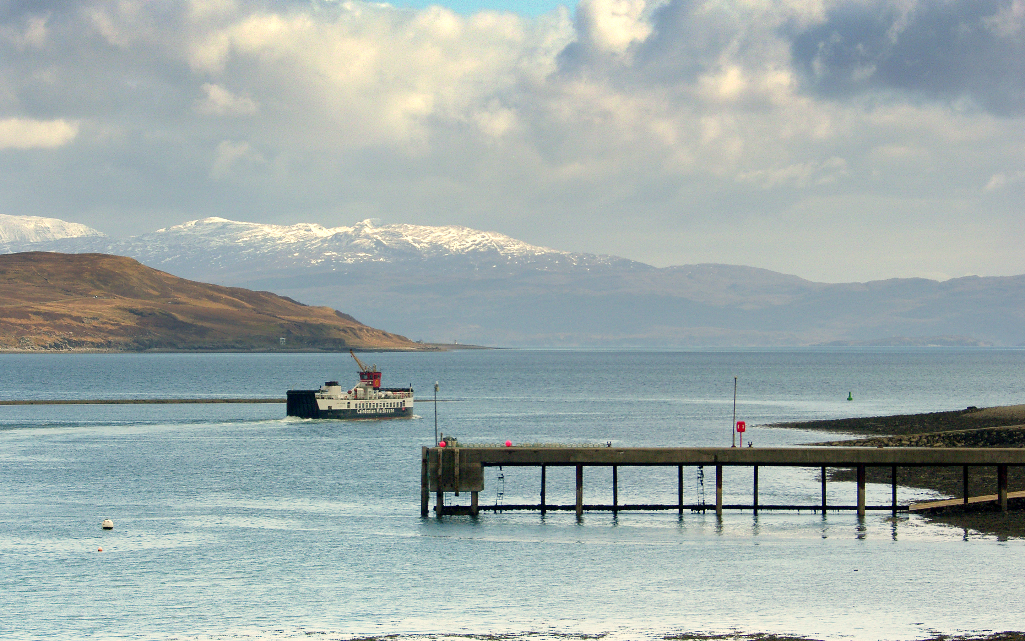 Loch Striven leaving Sconser (Ships of CalMac)