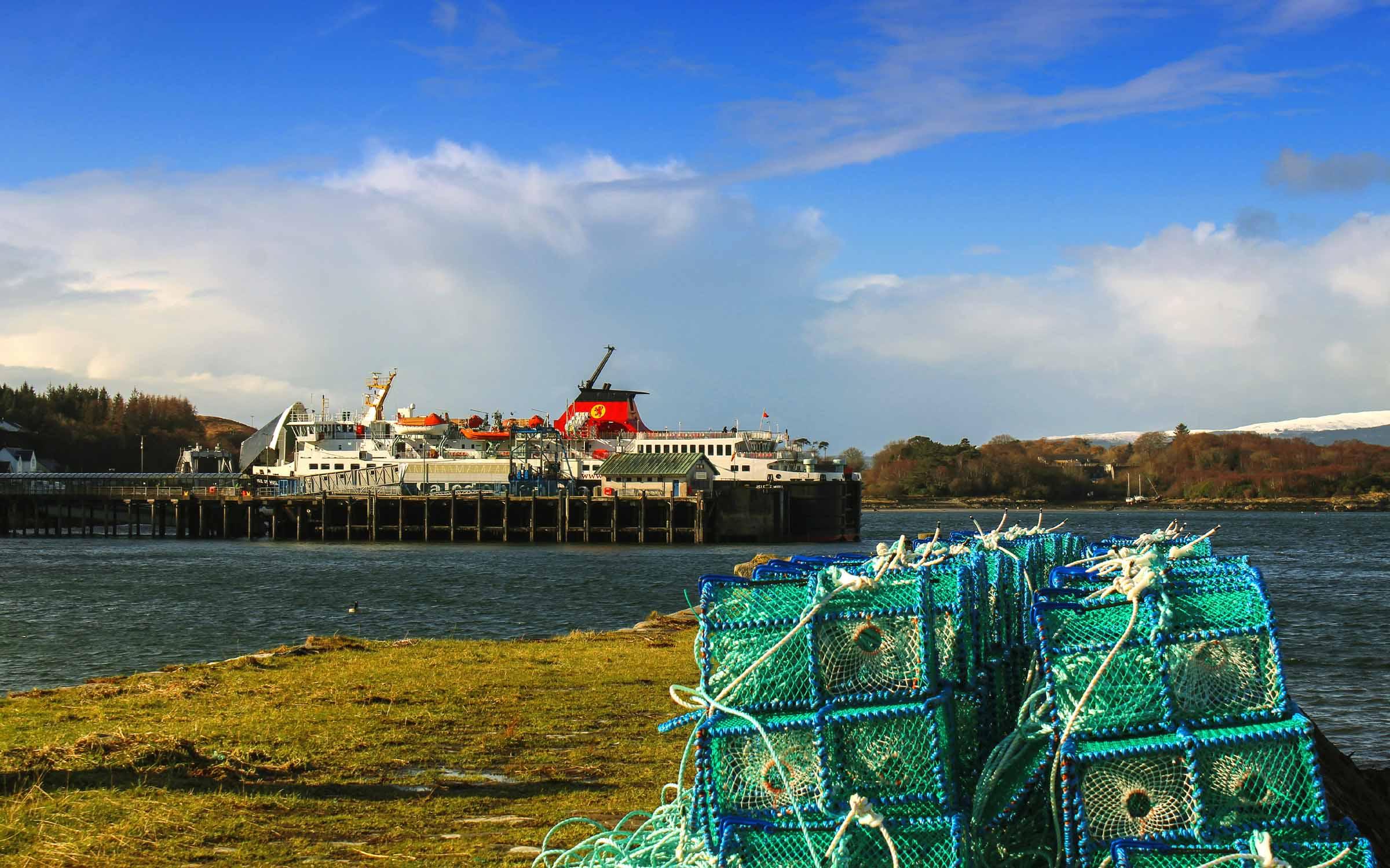 Isle of Mull at Craignure (Ships of CalMac)