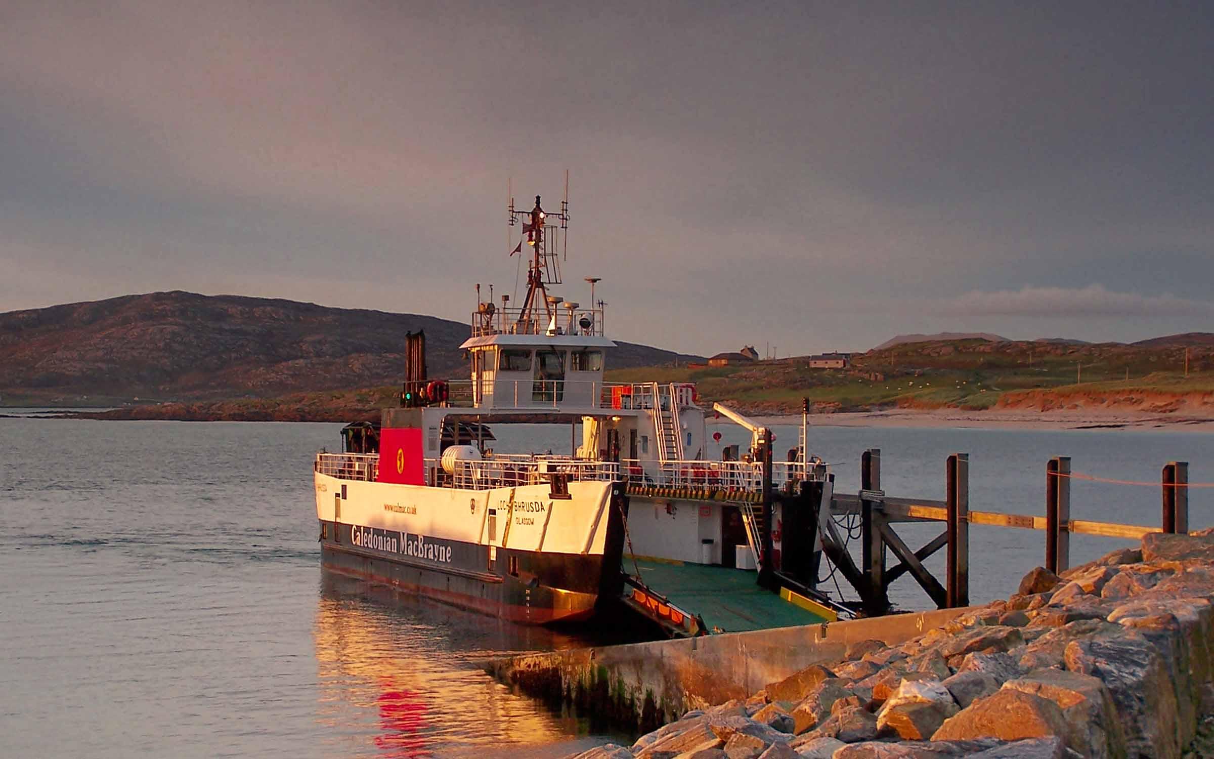 Loch Bhrusda at Eriskay (Ships of CalMac)