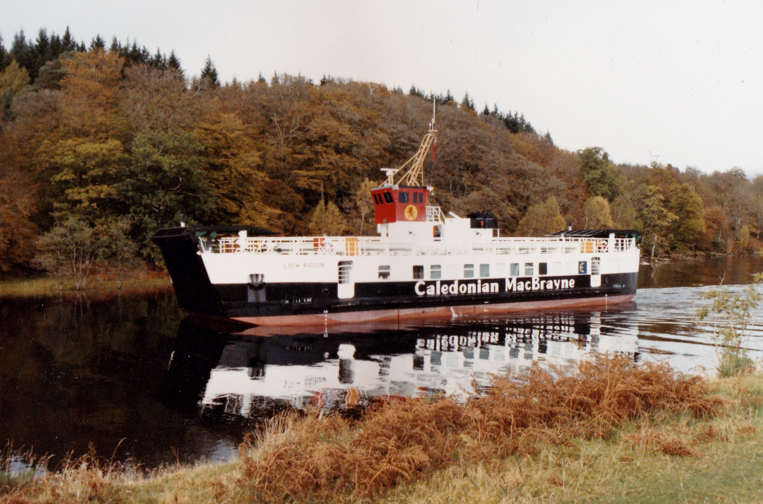 Loch Riddon in the Caledonian Canal (Jim Aikman Smith)