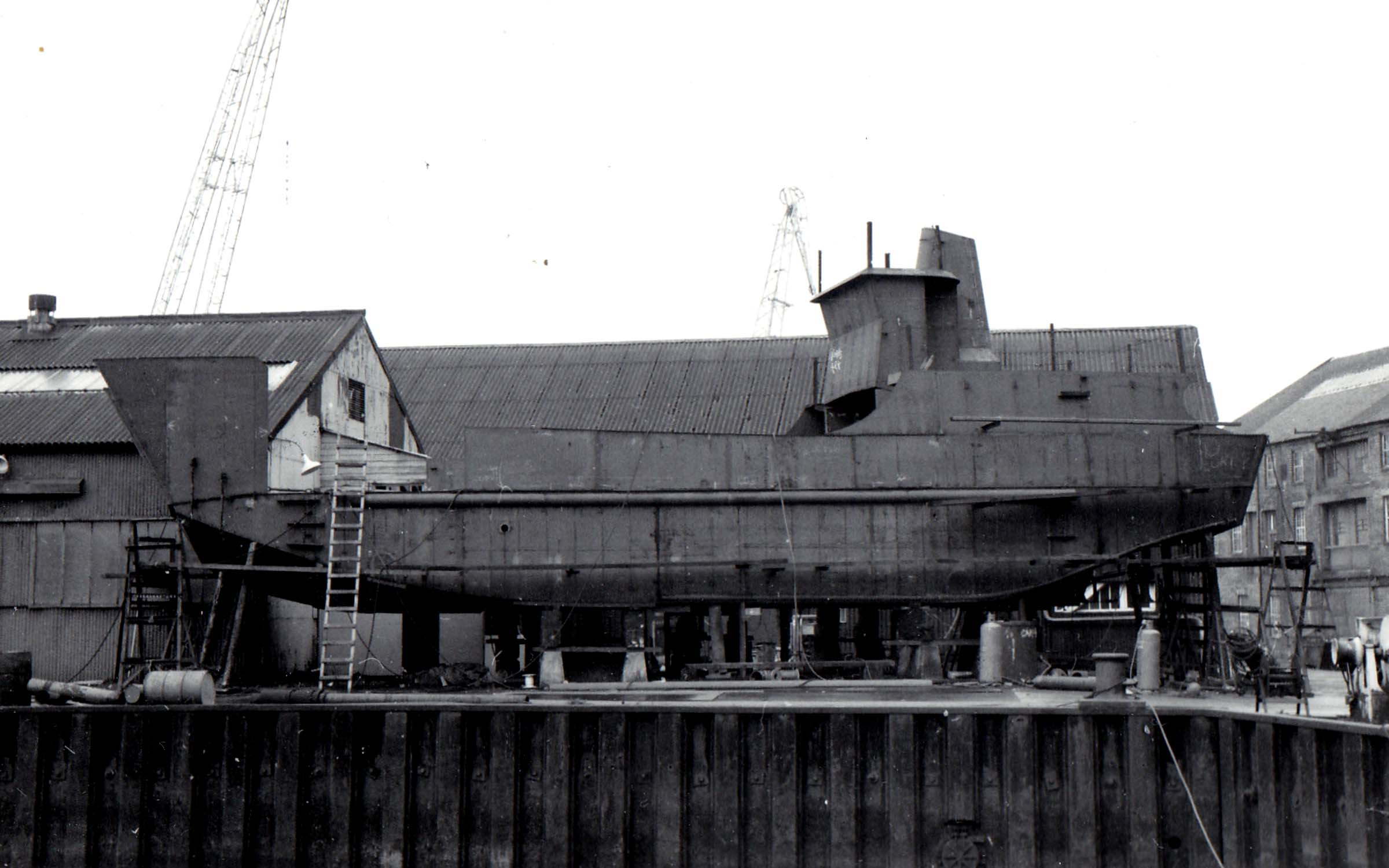 Morvern under construction (Jim Aikman Smith)