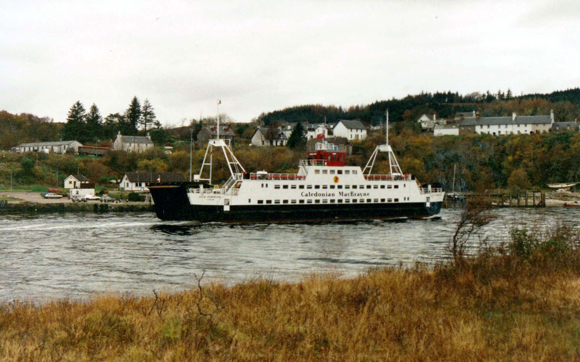 Loch Dunvegan arriving at Lochaline (Jim Aikman Smith)