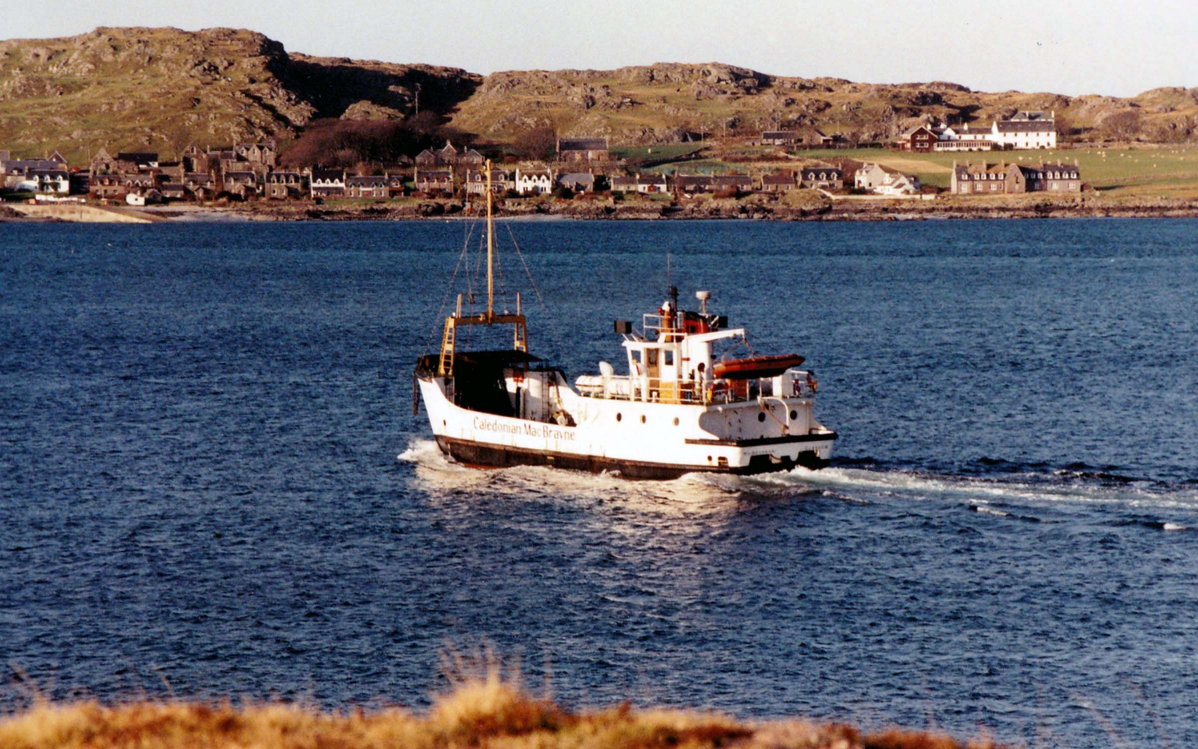 Kilbrannan in the Sound of Iona (Jim Aikman Smith)