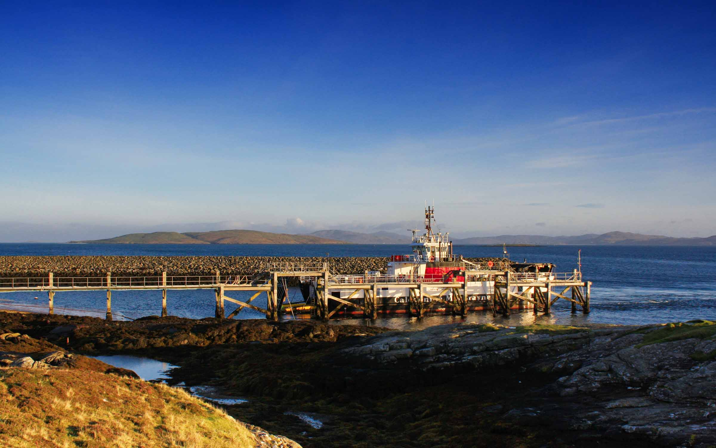 Loch Bhrusda at Ardmhor (Ships of CalMac)