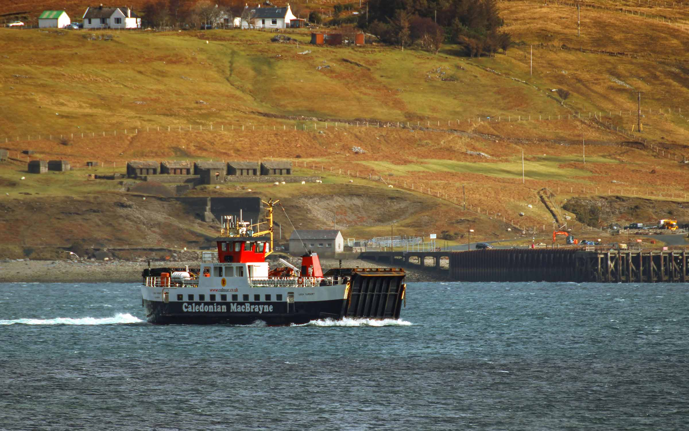 Loch Tarbert crossing to Sconser (Ships of CalMac)