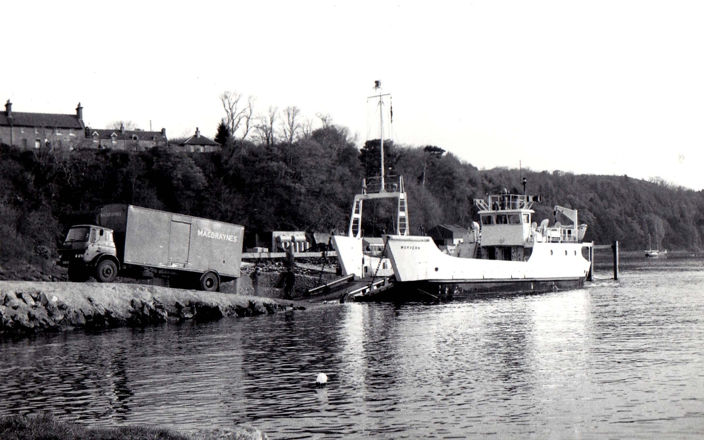 Morvern at Lochaline slipway (Jim Aikman Smith)