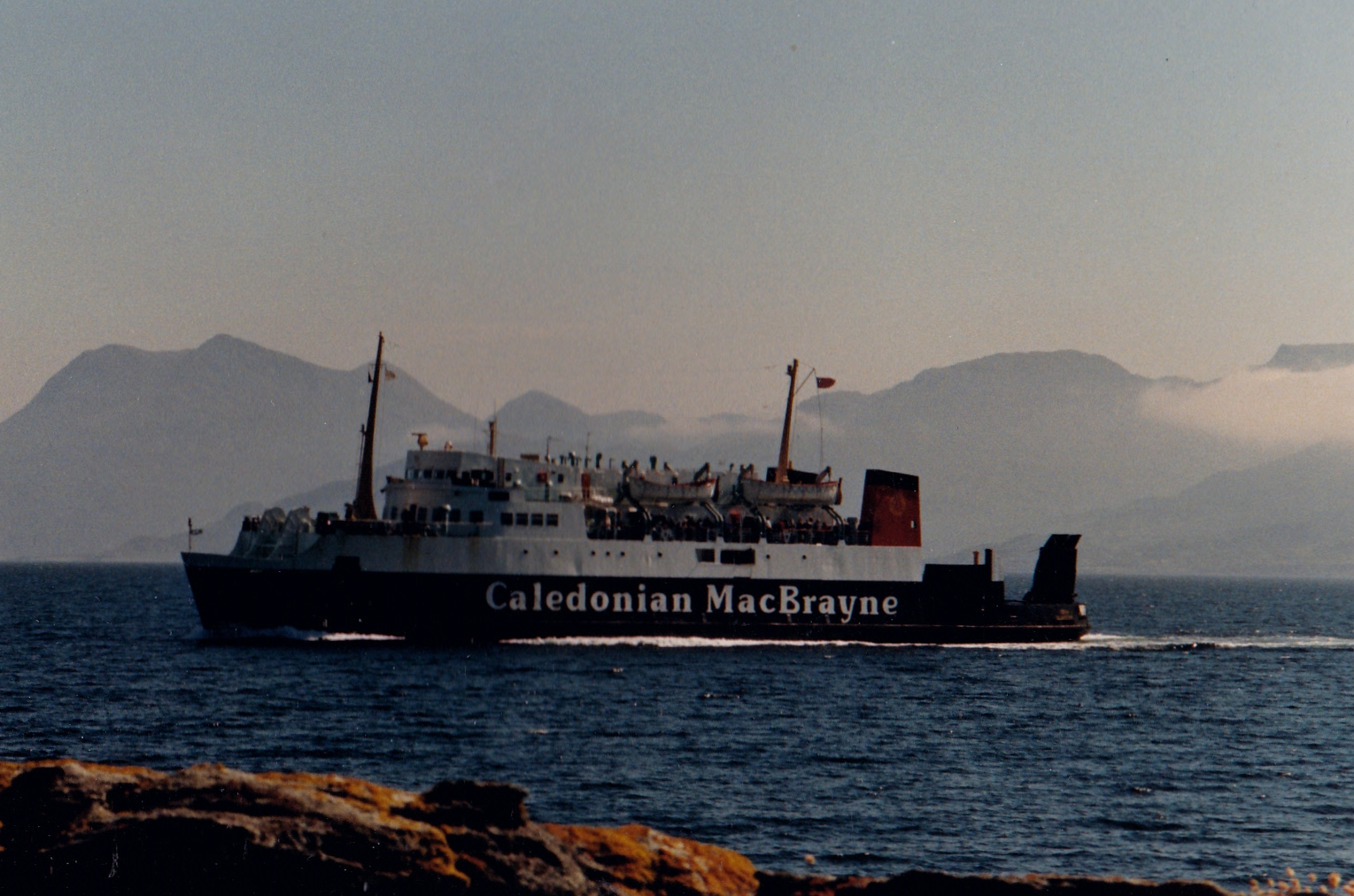 Iona in the Sound of Sleat (Jim Aikman Smith)