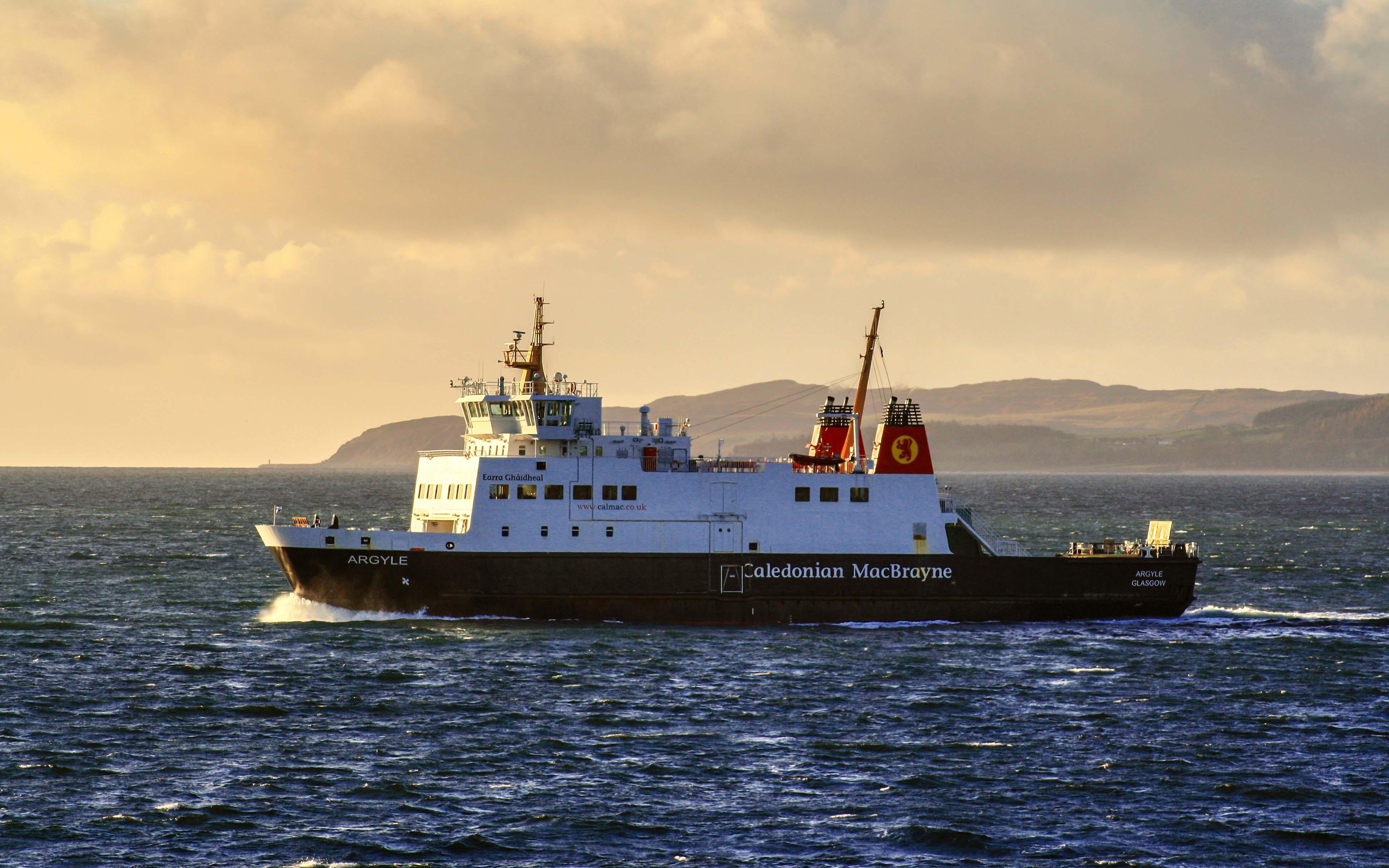 Argyle heading fro Wemyss Bay (Ships of CalMac)