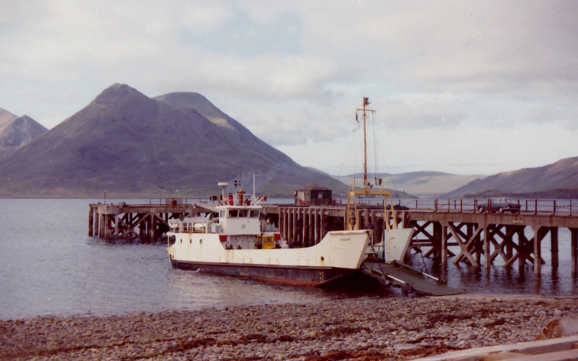 Raasay at Raasay slipway (Jim Aikman Smith)
