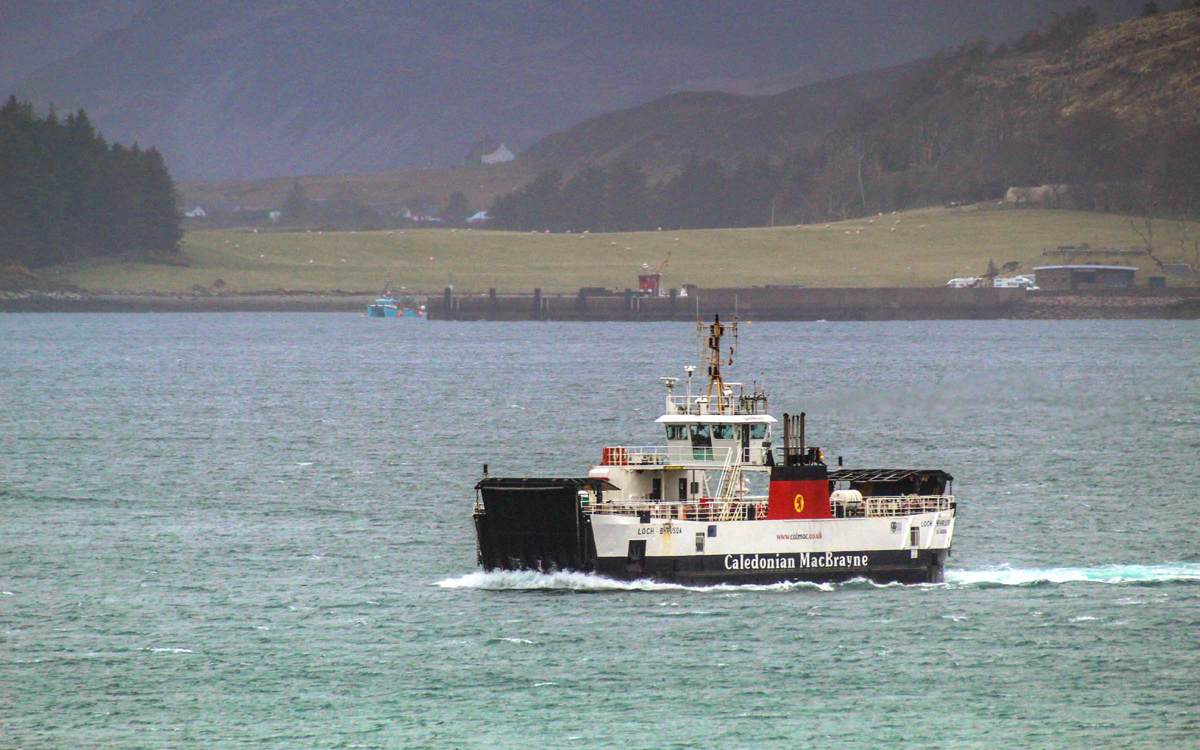 Loch Bhrusda crossing from Raasay to Skye (Ships of CalMac)