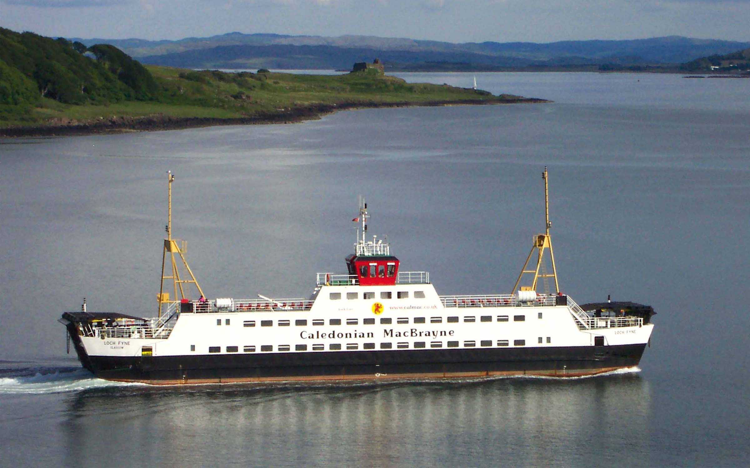 Loch Fyne in the Sound of Mull (Ships of CalMac)