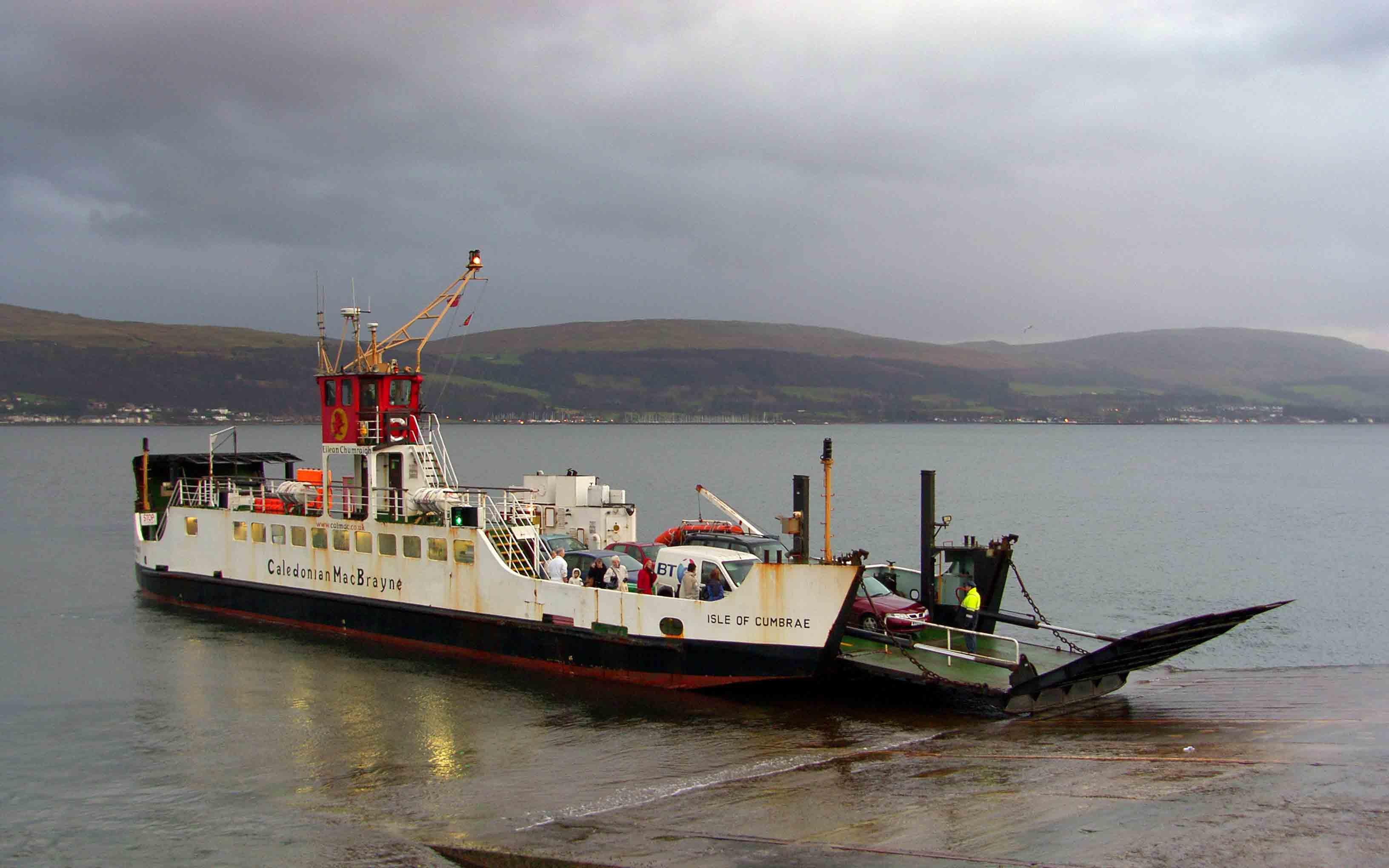 Isle of Cumbrae at Cumbrae Slip (Ships of CalMac)