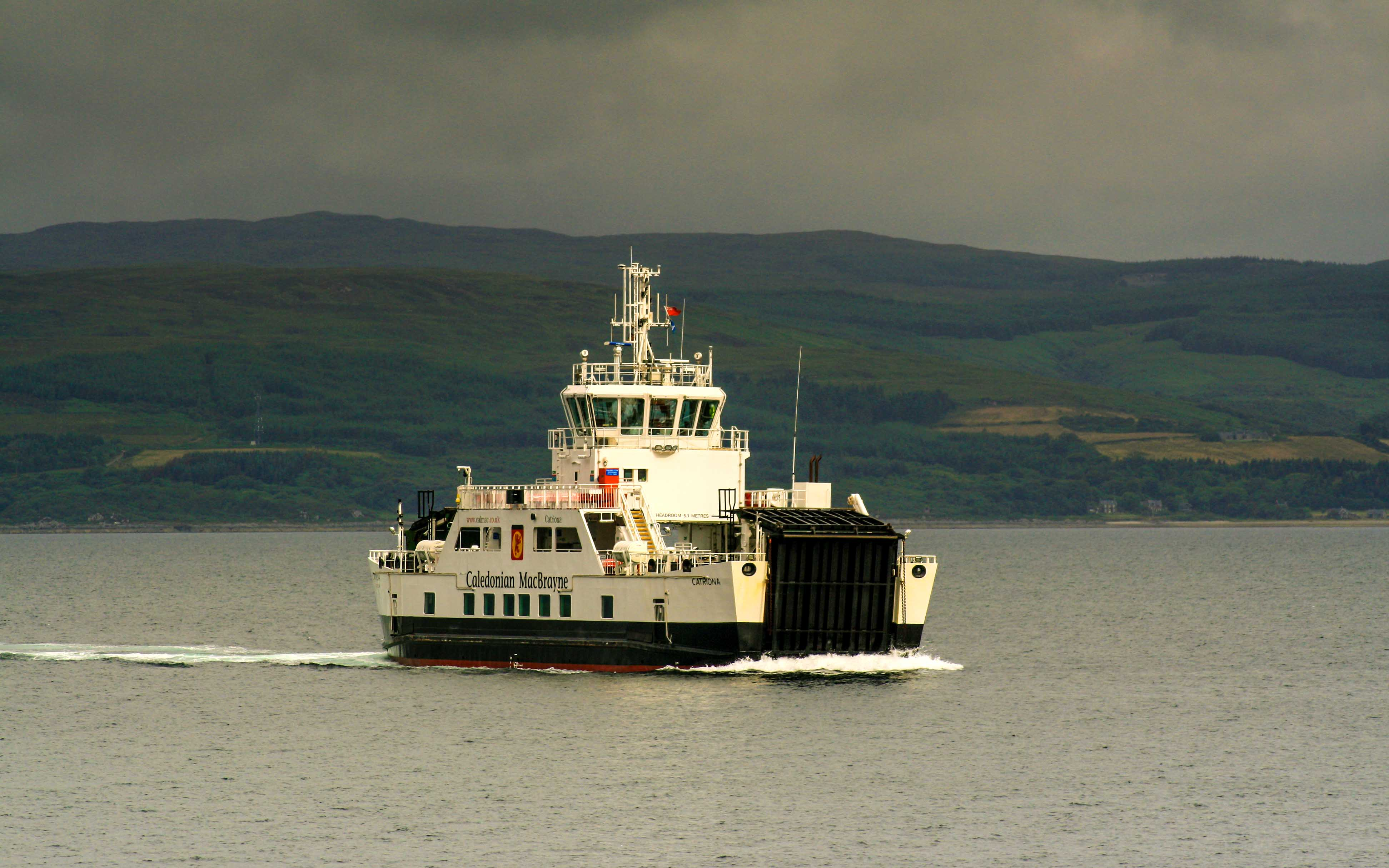 Catriona crossing the Kilbrannan Sound (Photo: SoC Crew)