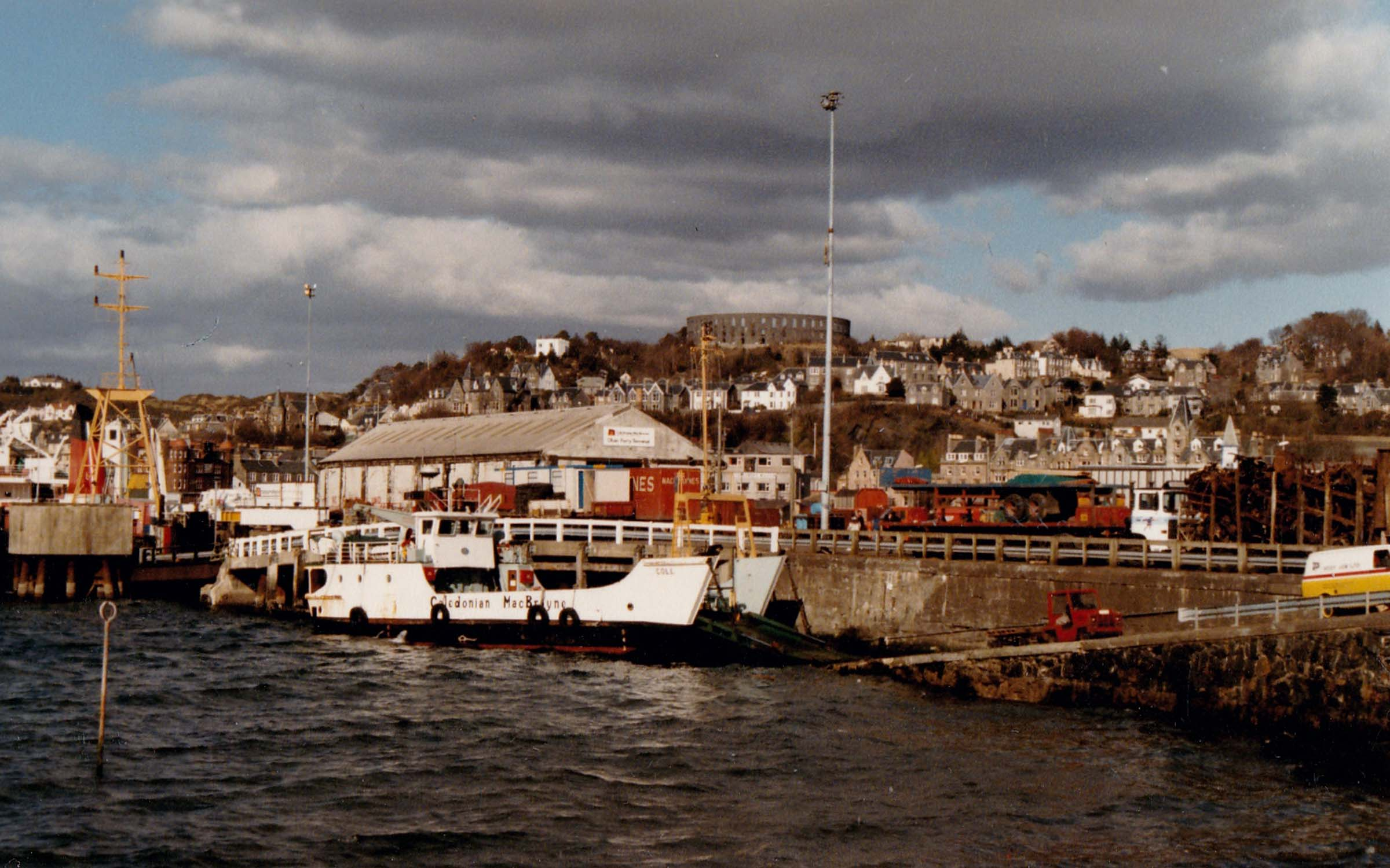 Coll at Oban (Jim Aikman Smith)