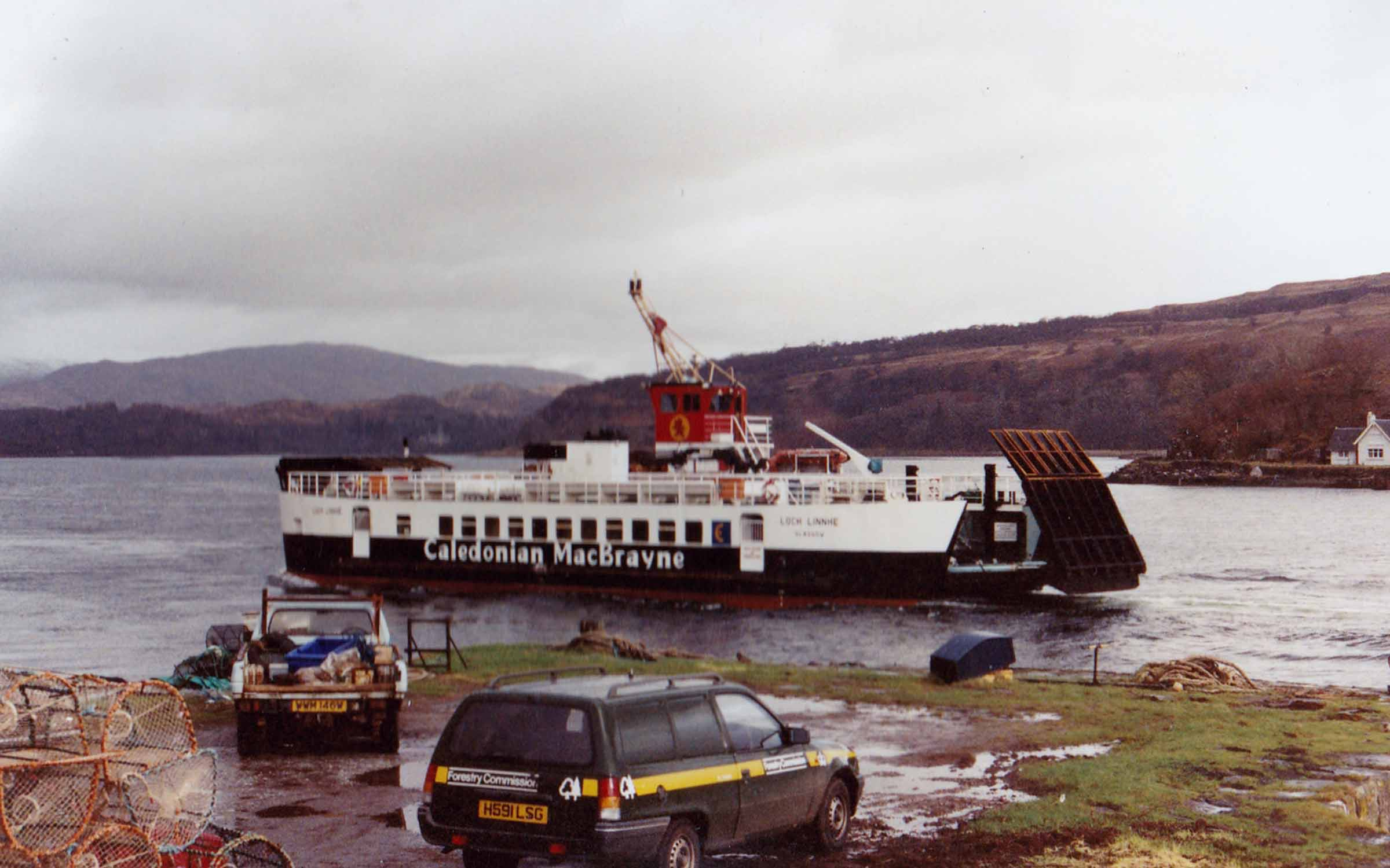 Loch Linnhe arriving at Lochaline (Jim Aikman Smith)
