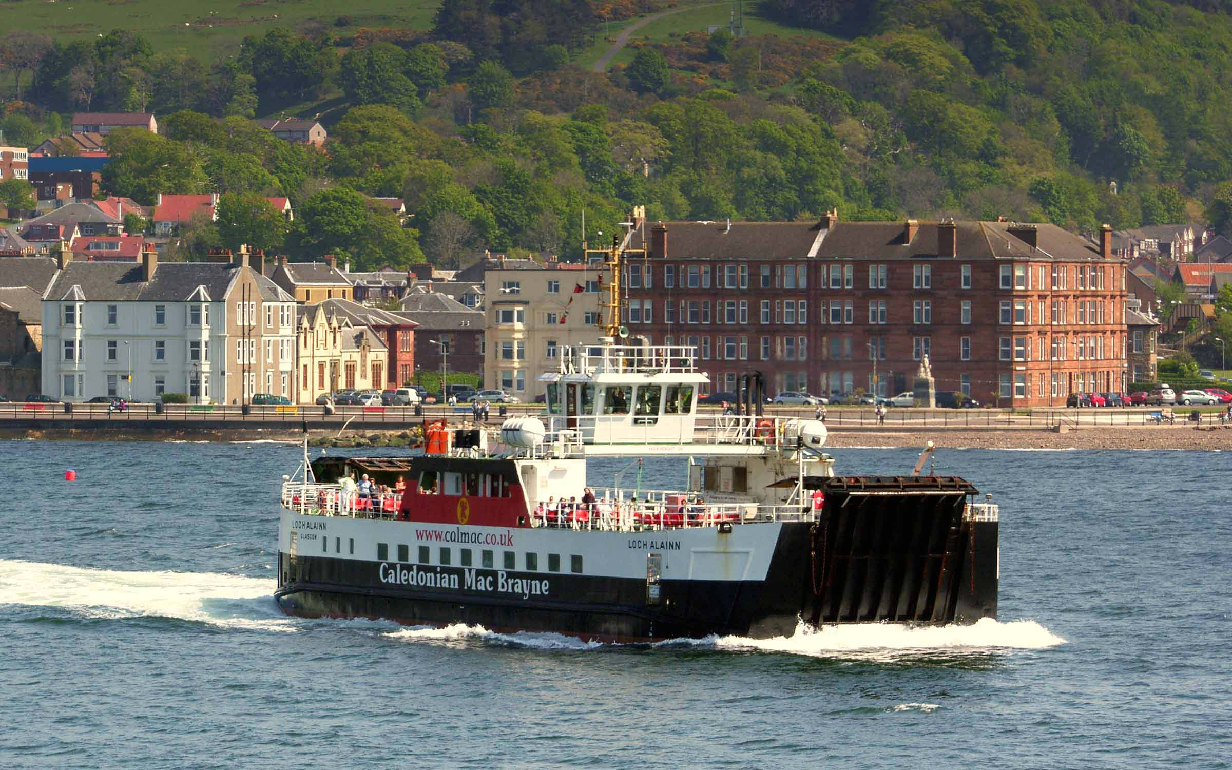 Loch Alainn crossing from Largs to Cumbrae (Ships of CalMac)