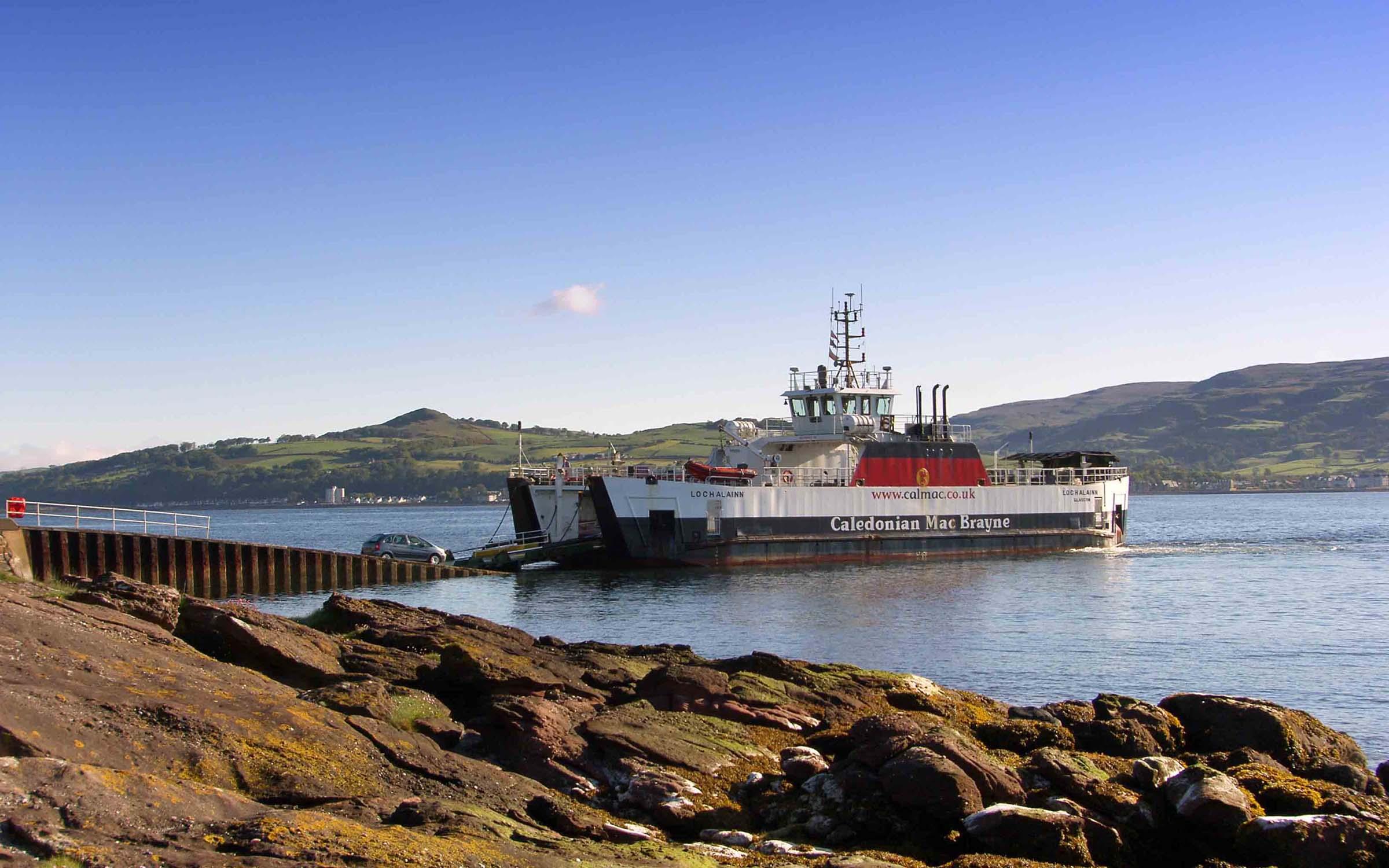Loch Alainn at Cumbrae Slip (Ships of CalMac)