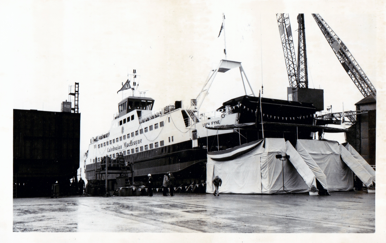 Loch Fyne ready for launching (Jim Aikman Smith)