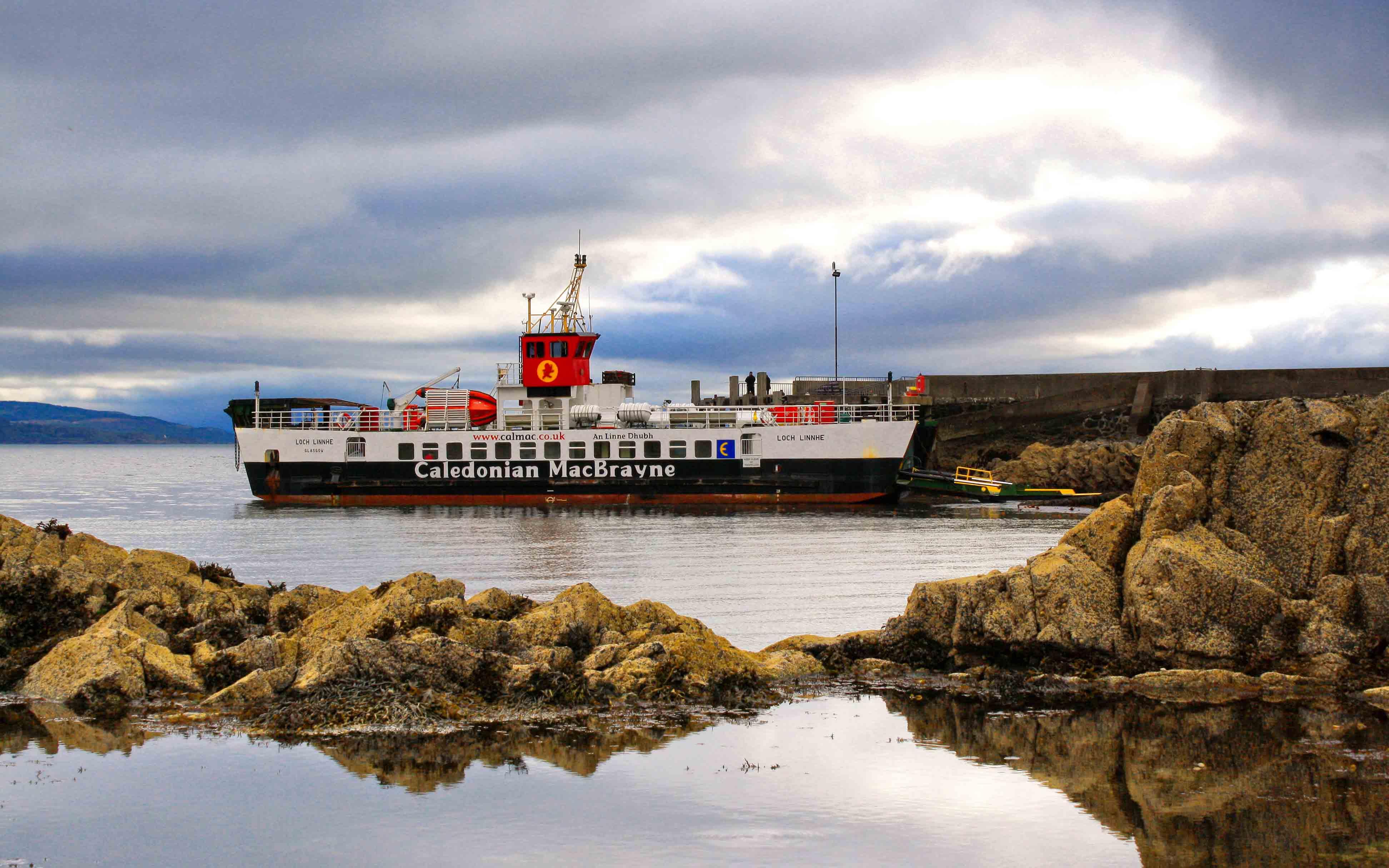 Loch Linnhe at Kilchoan (Ships of CalMac)