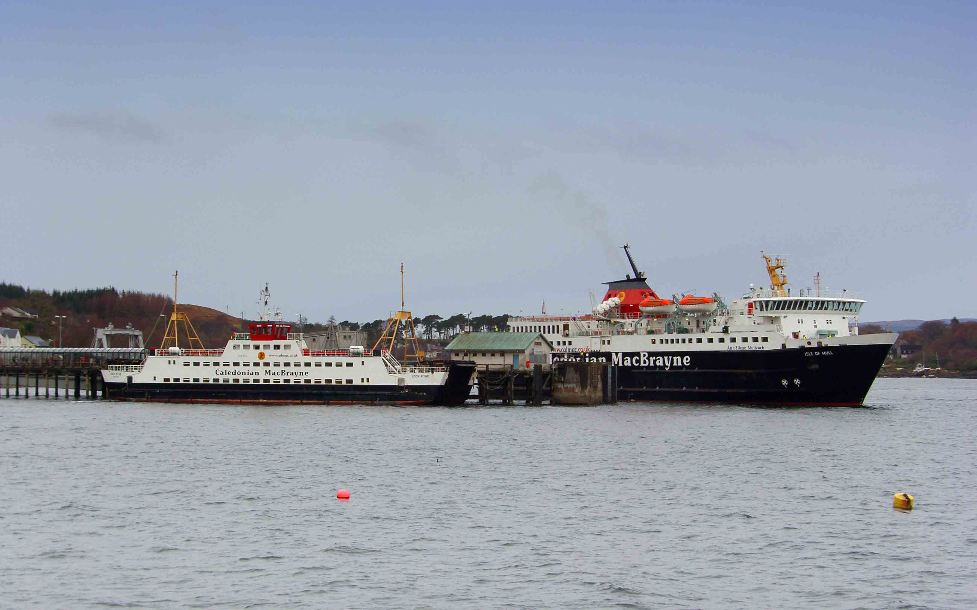 Loch Fyne at Craignure with Isle of Mull (Ships of CalMac)