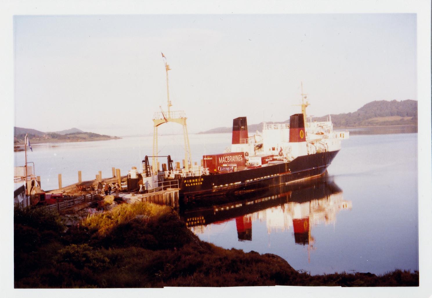 Pioneer at Kennacraig (Jim Aikman Smith)