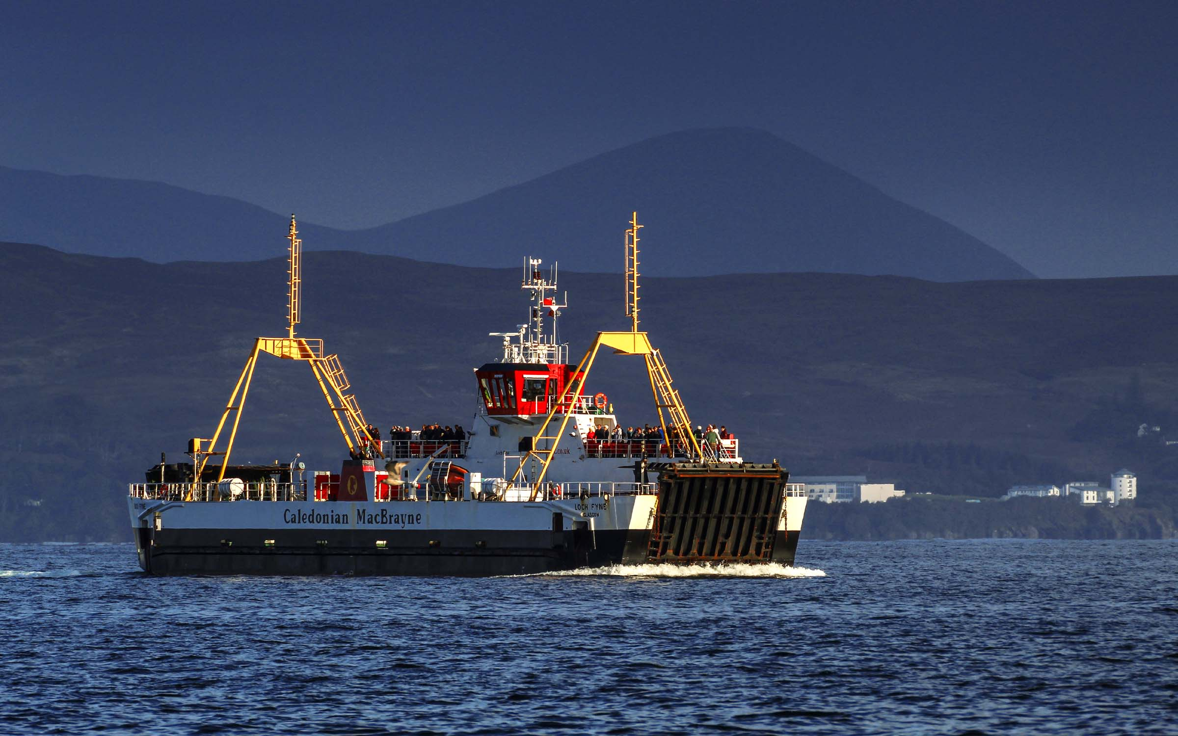 Loch Fyne in the Sound of Sleat (Ships of CalMac)