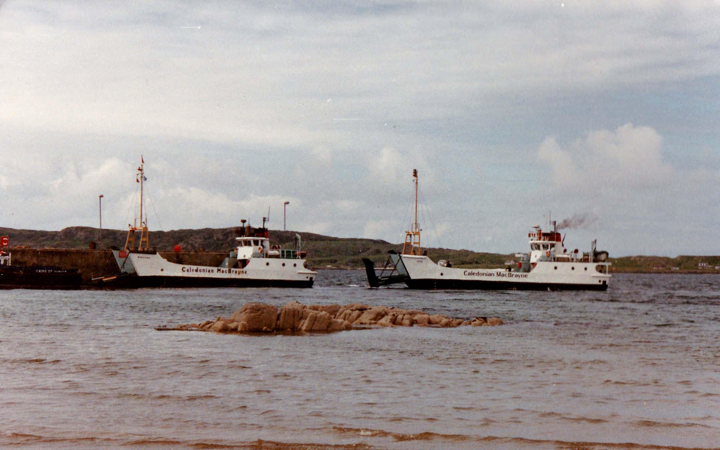 Morvern and Rhum at Fionnphort (Jim Aikman Smith)