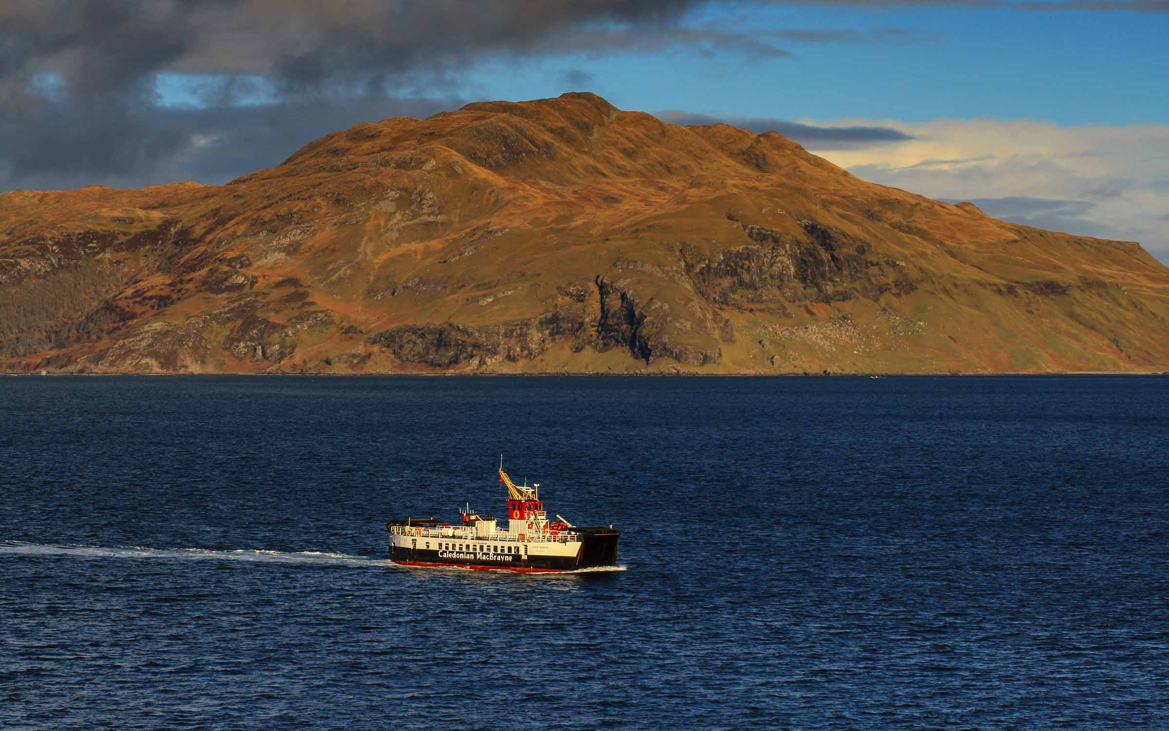 Loch Riddon crossing to Tobermory (Ships of CalMac)