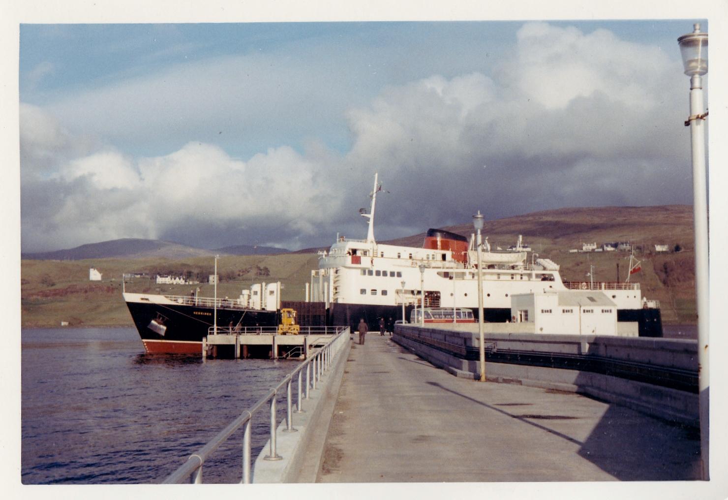 Hebrides alongside at Uig (Jim Aikman Smith)