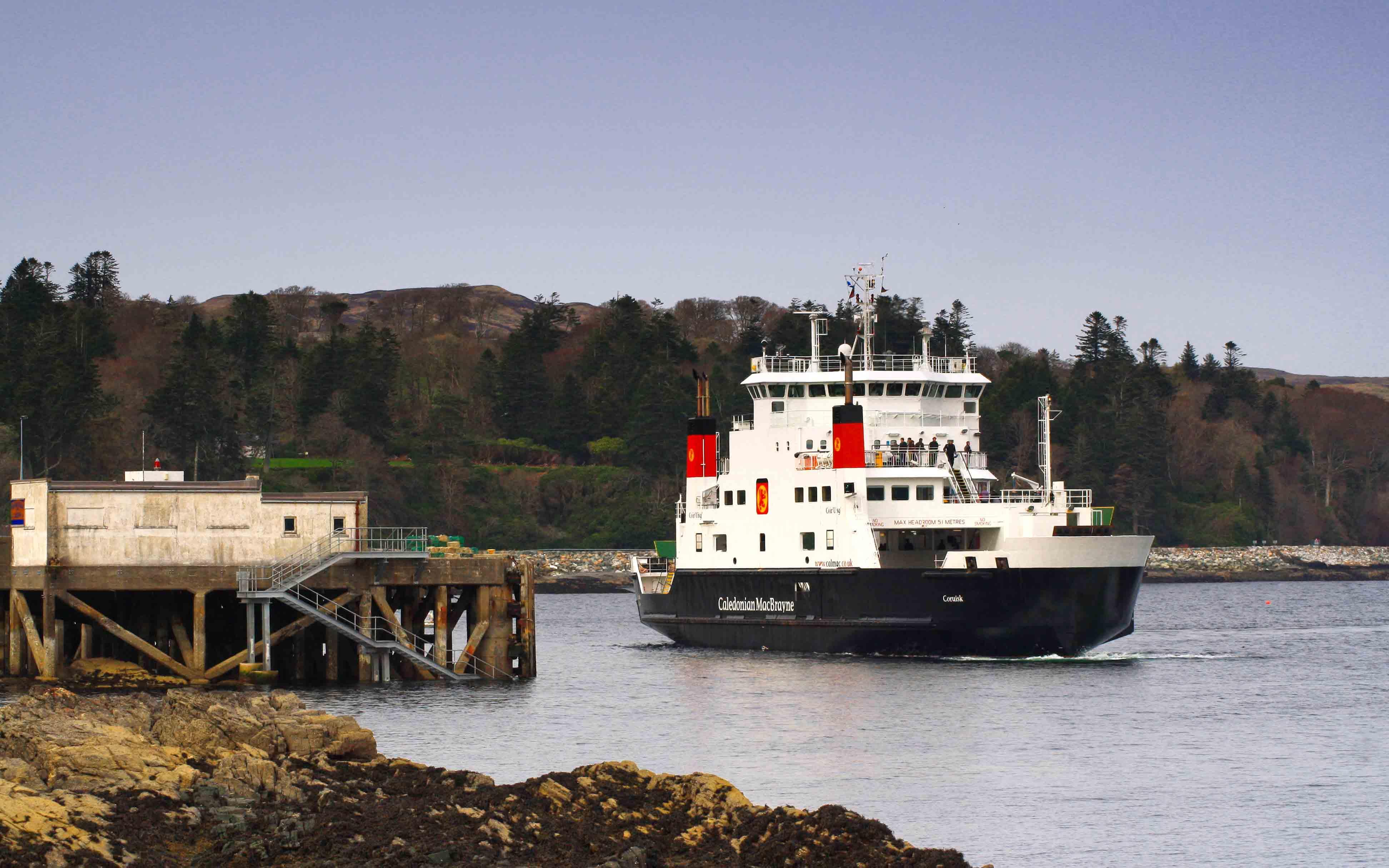 Coruisk arriving at Armadale (Ships of CalMac)