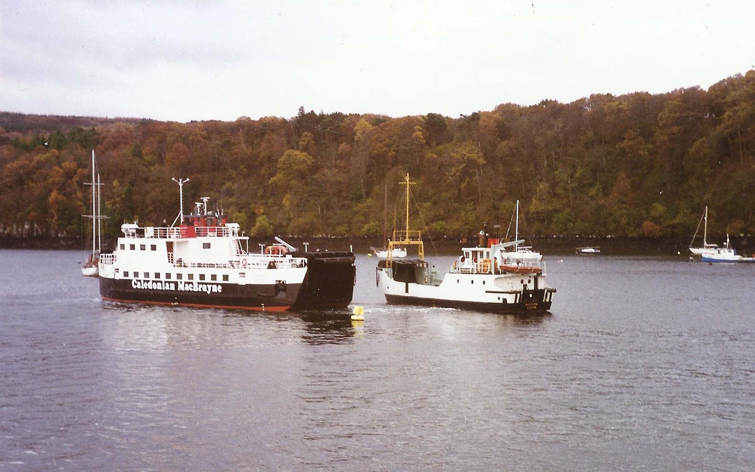 Morvern and Loch Buie in Tobermory Bay (Iain McPherson)