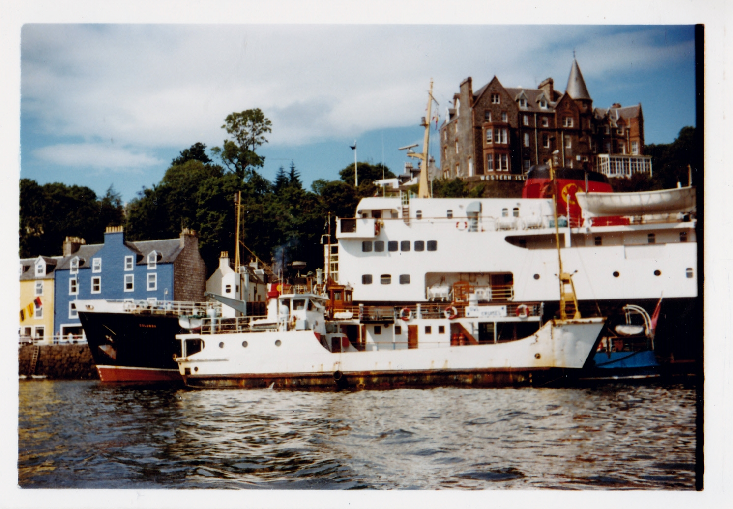 Coll and Columba at Tobermory (Jim Aikman Smith)