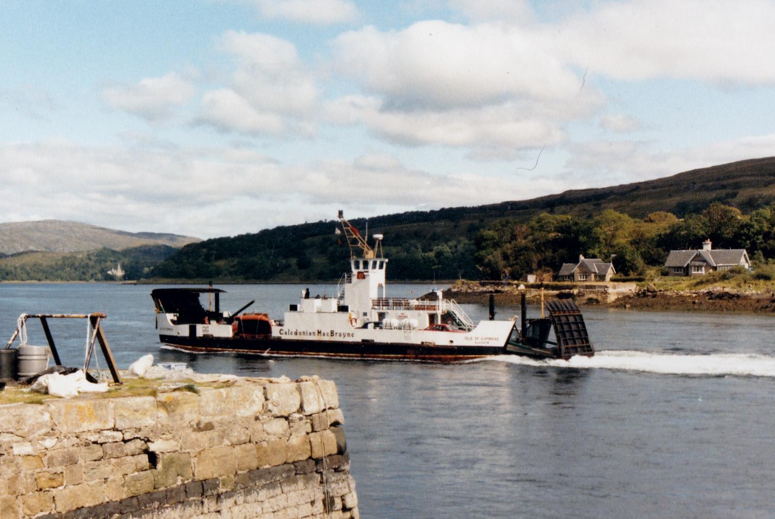 Isle of Cumbrae arriving at Lochaline (Jim Aikman Smith)