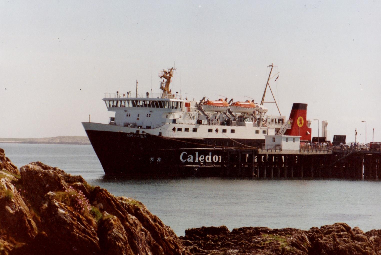 Lord of the Isles at Tiree (Jim Aikman Smith)