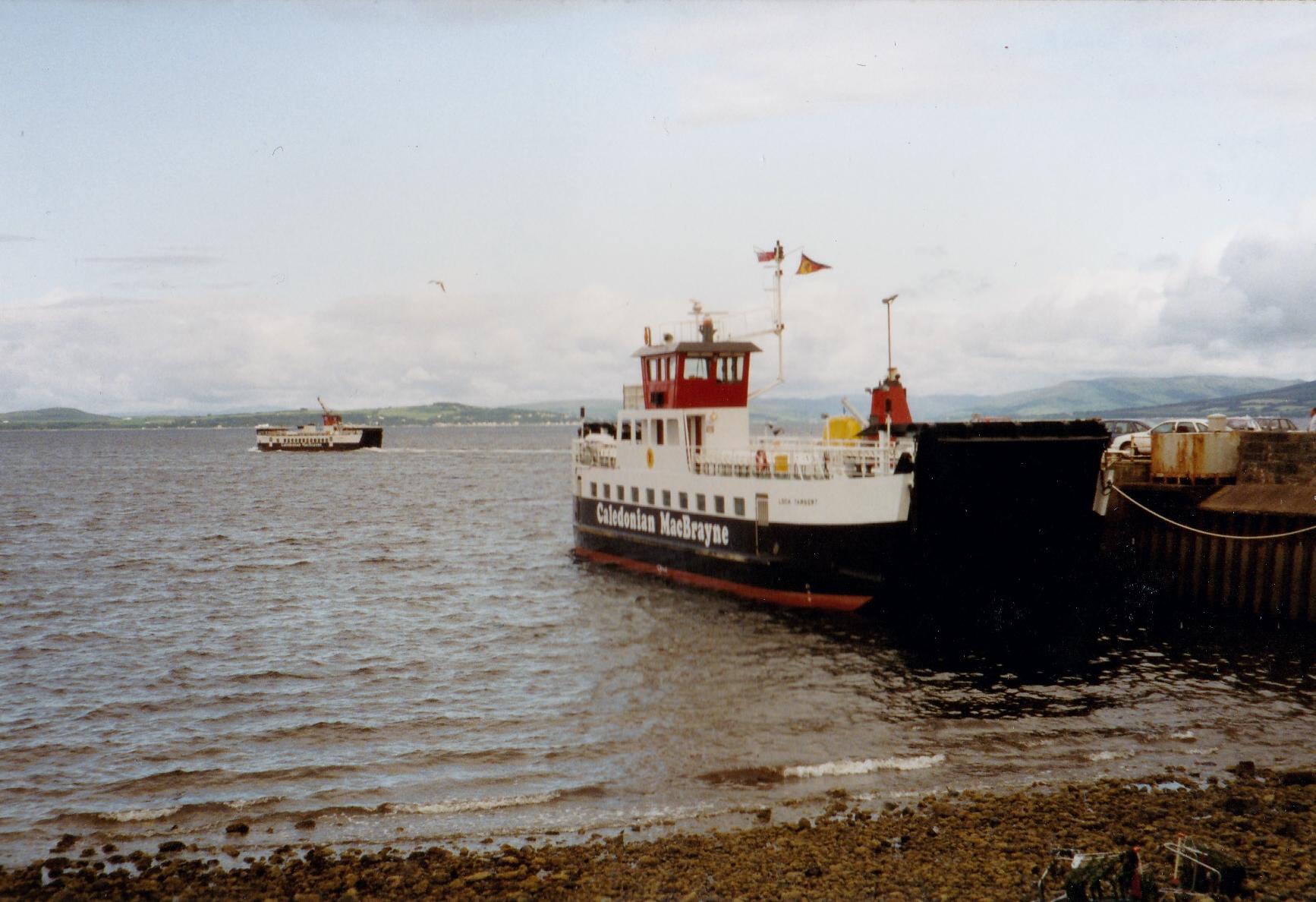 Loch Striven crossing to Cumbrae Slip (Jim Aikman Smith)