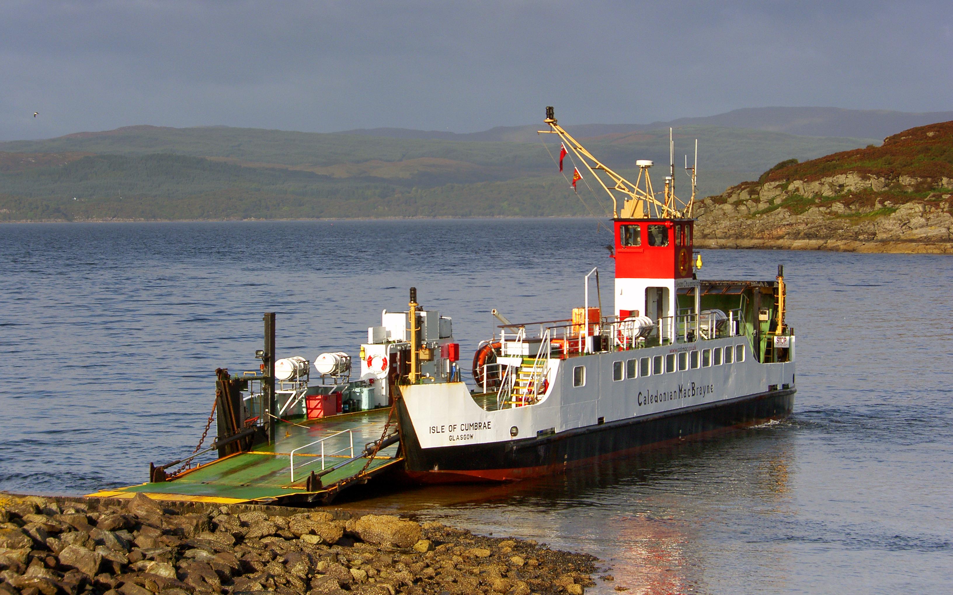 Isle of Cumbrae at Portavadie (Ships of CalMac)