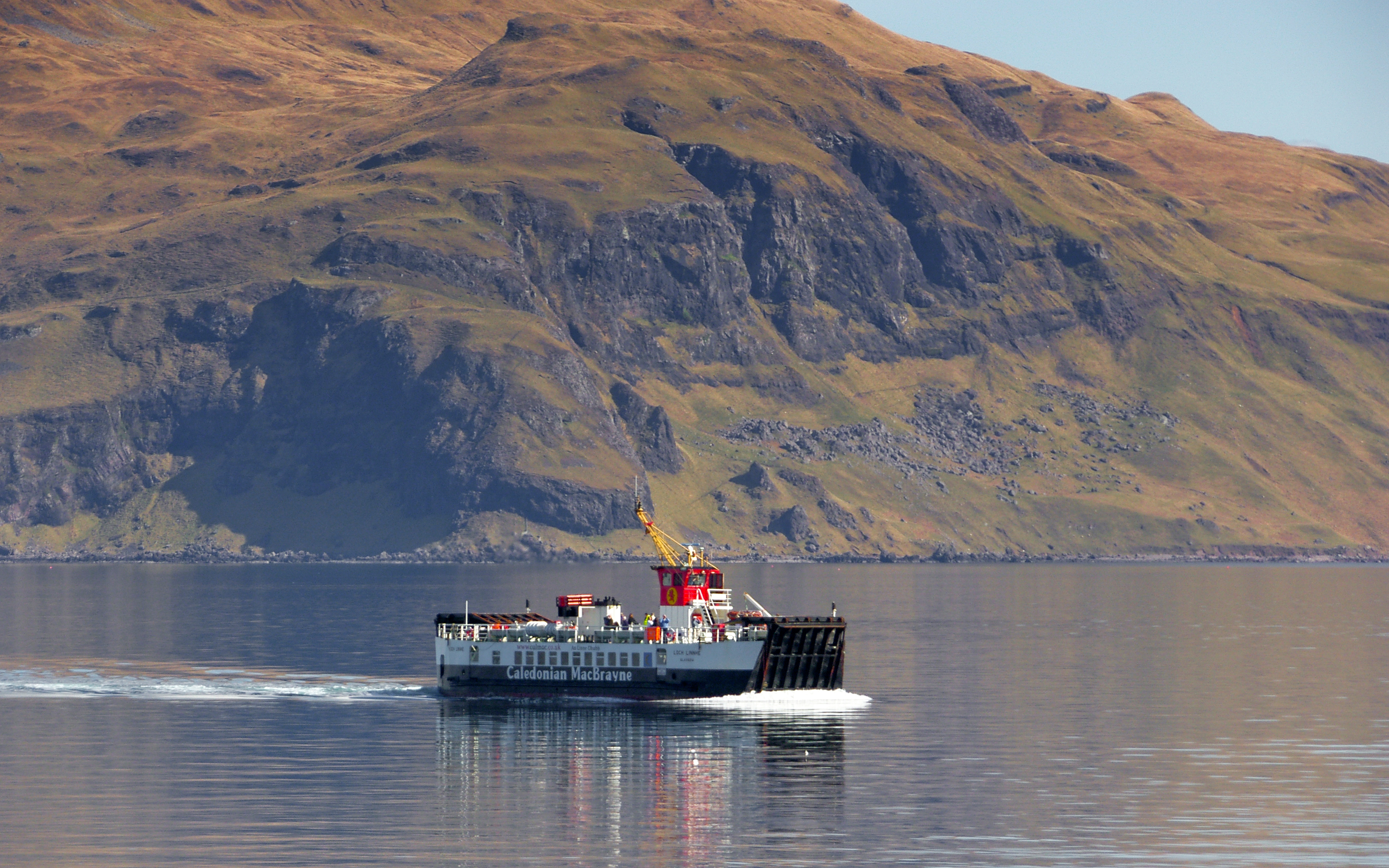 Loch Linnhe in the Sound of Mull (Ships of CalMac)