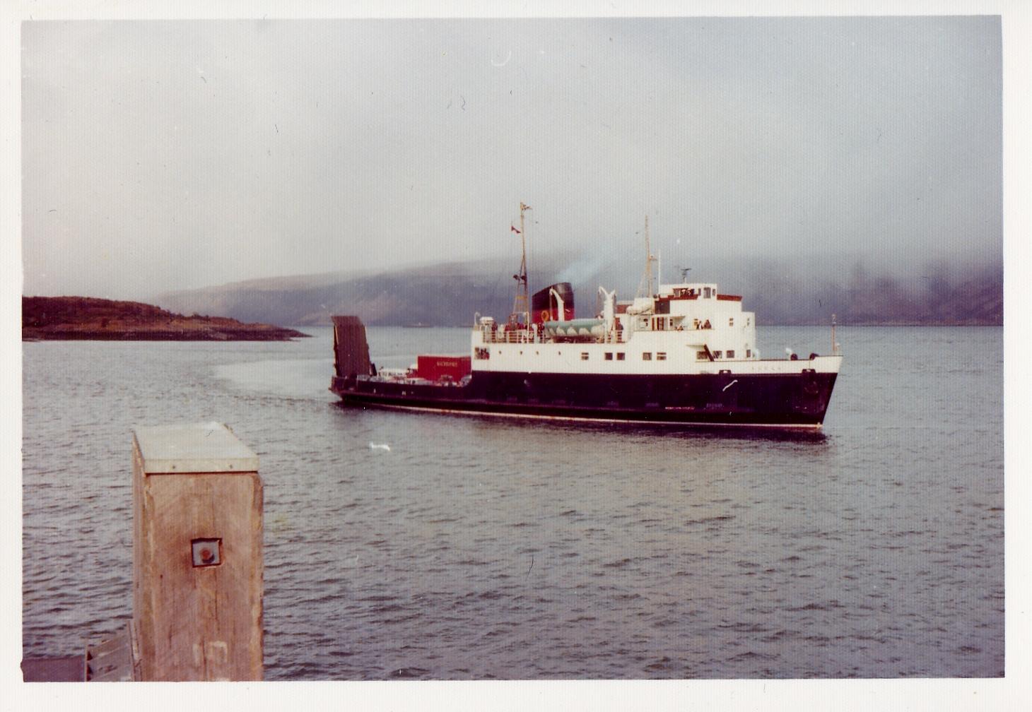Arran arriving at Craignure (Jim Aikman Smith)