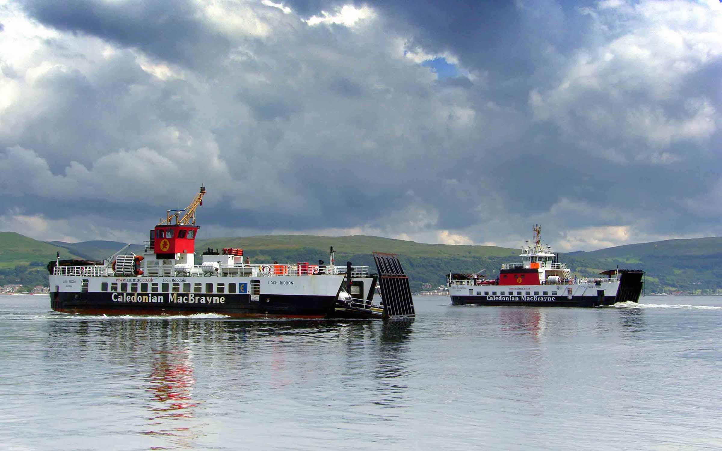 Loch Riddon and Loch Bhrusda