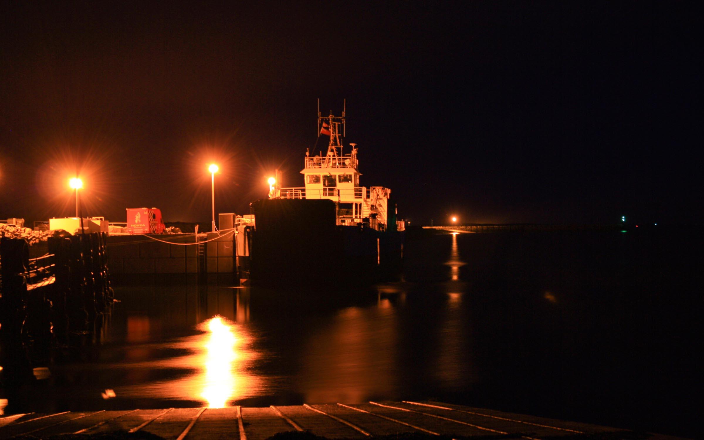 Loch Bhrusda at Otternish (Ships of CalMac)