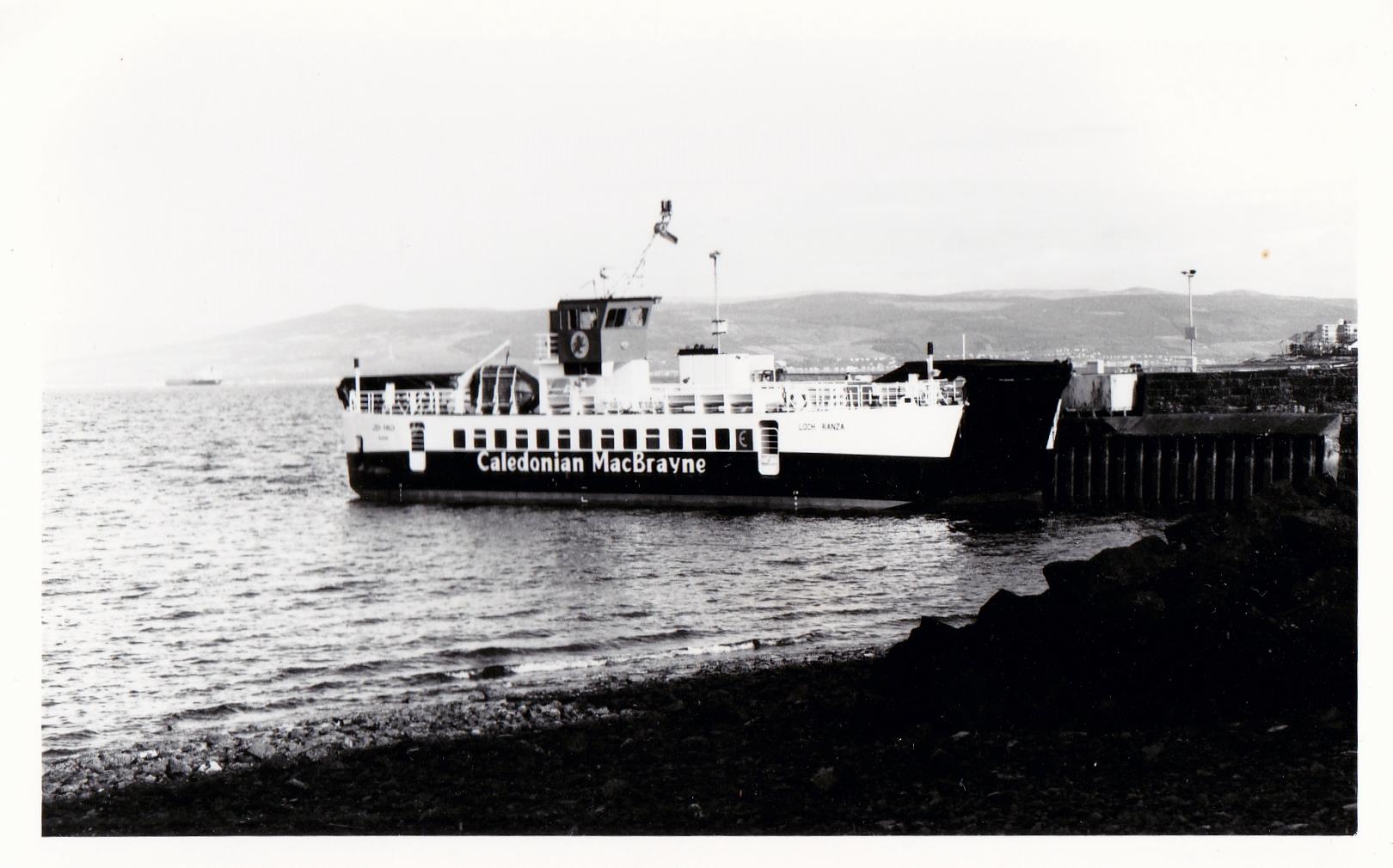 Loch Ranza lying at Largs (Jim Aikman Smith)