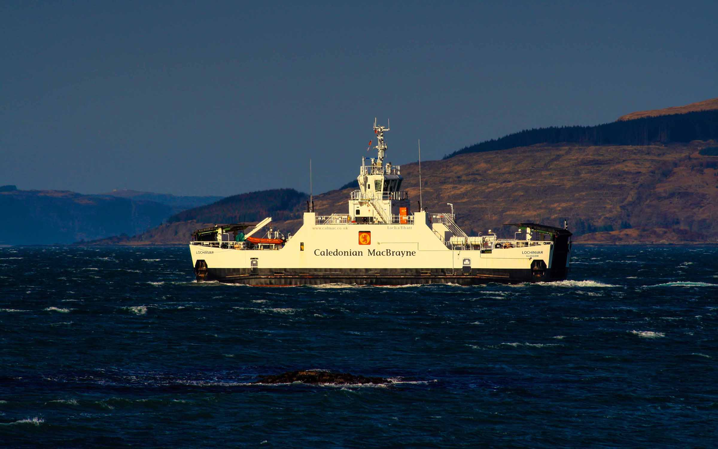 Lochinvar in the Sound of Mull (Ships of CalMac)