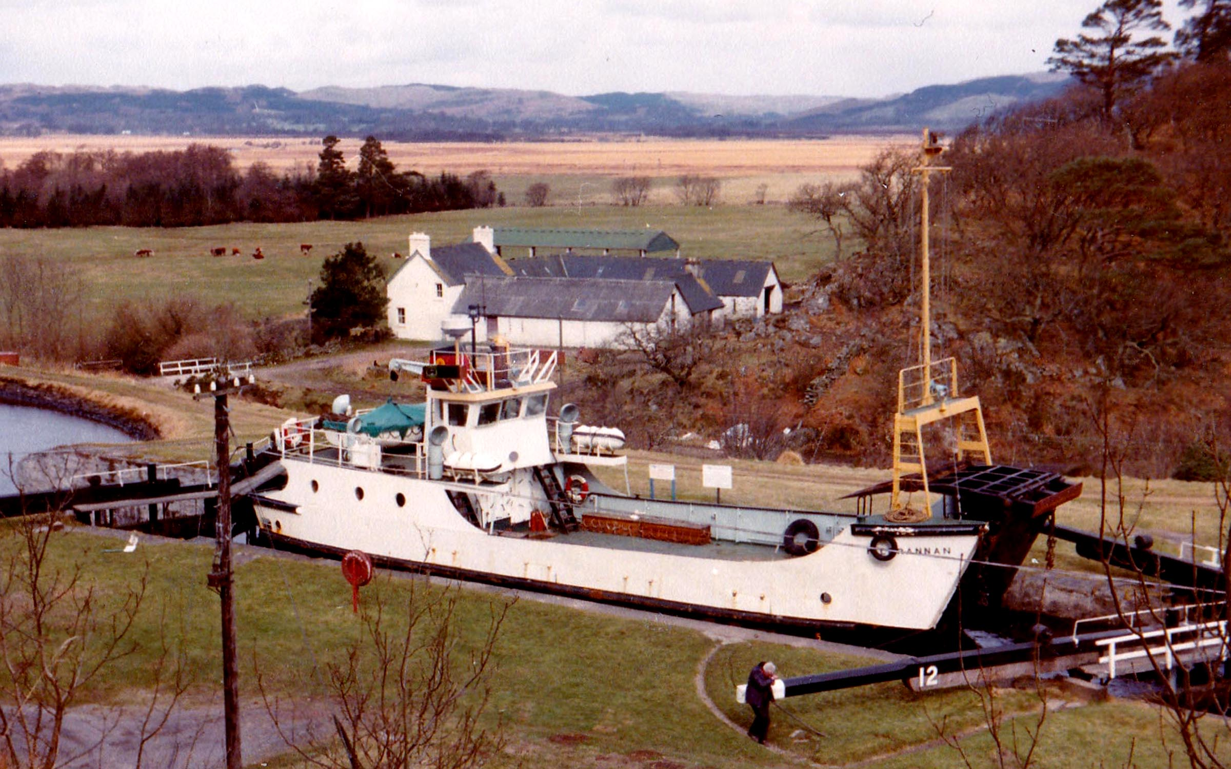 Kilbrannan in the Crinan Canal (Jim Aikman Smith)