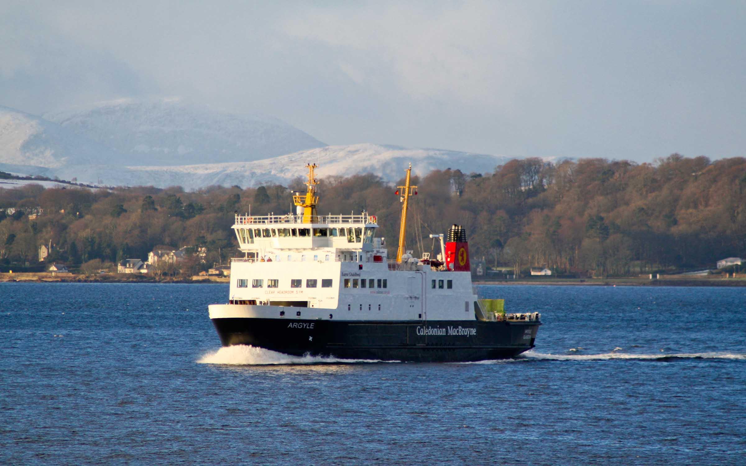Argyle crossing the Clyde (Ships of CalMac)
