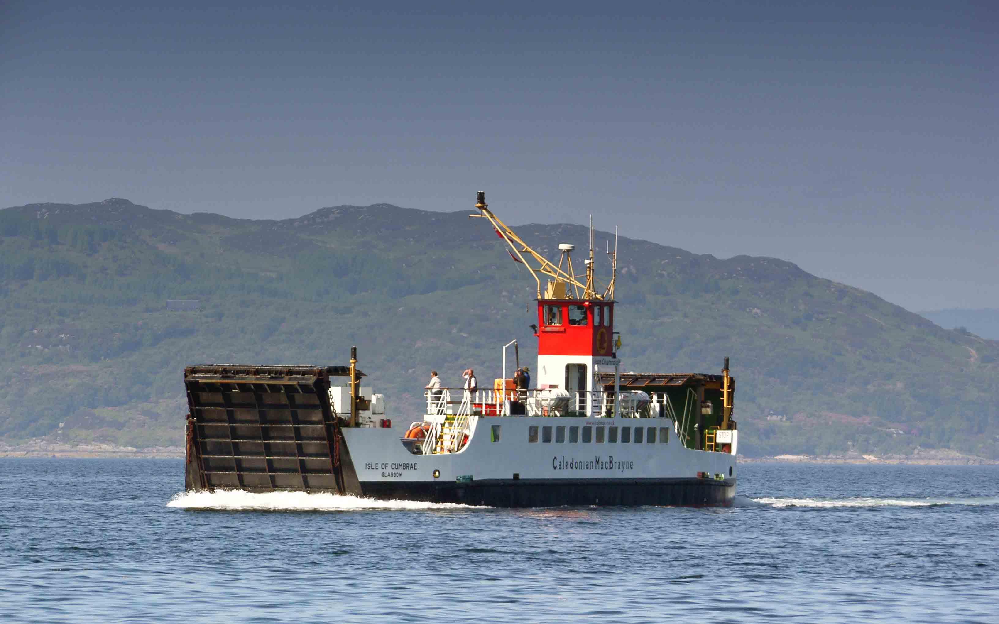 Isle of Cumbrae crossing Loch Fyne (Ships of CalMac)