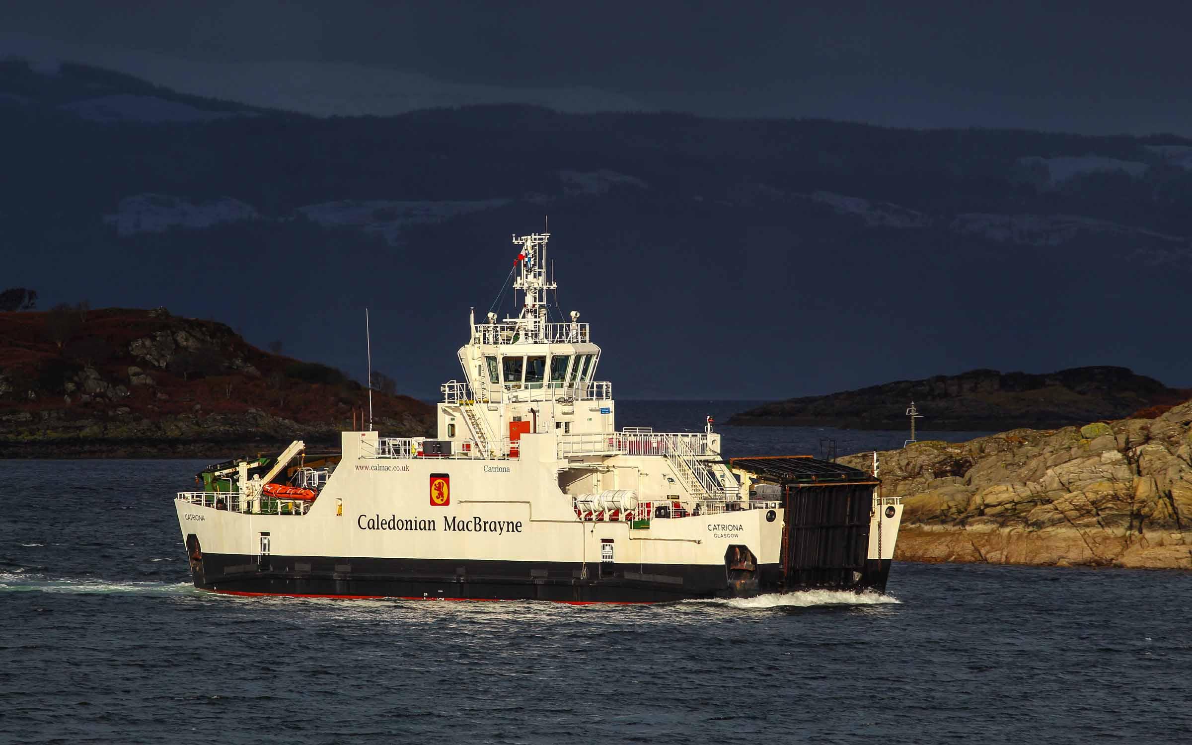 Catriona approaching Portavadie (Photo: SoC Crew)