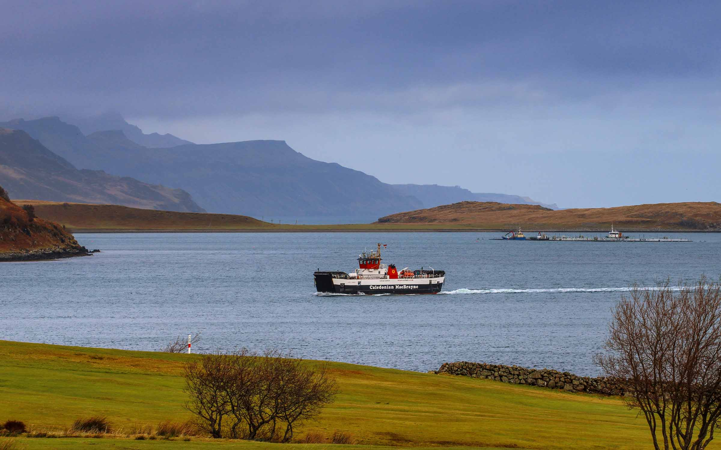 Loch Tarbert relieving on the Raasay run (Ships of CalMac)