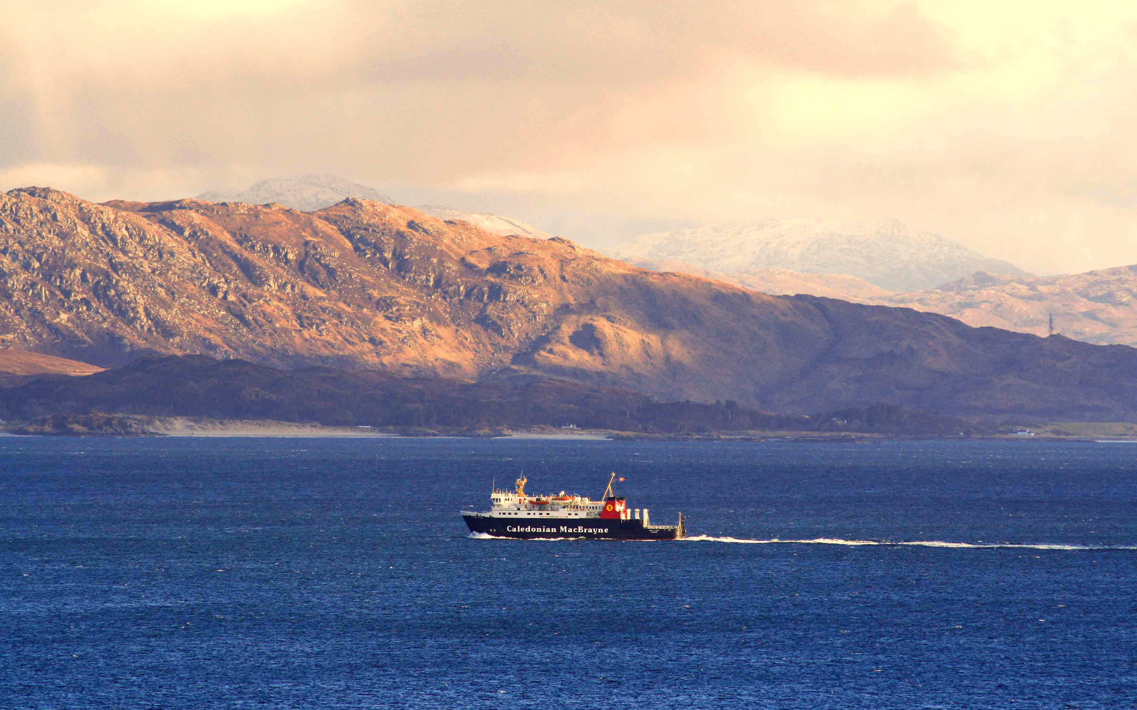 Lord of the Isles in the Sound of Sleat (Ships of CalMac)