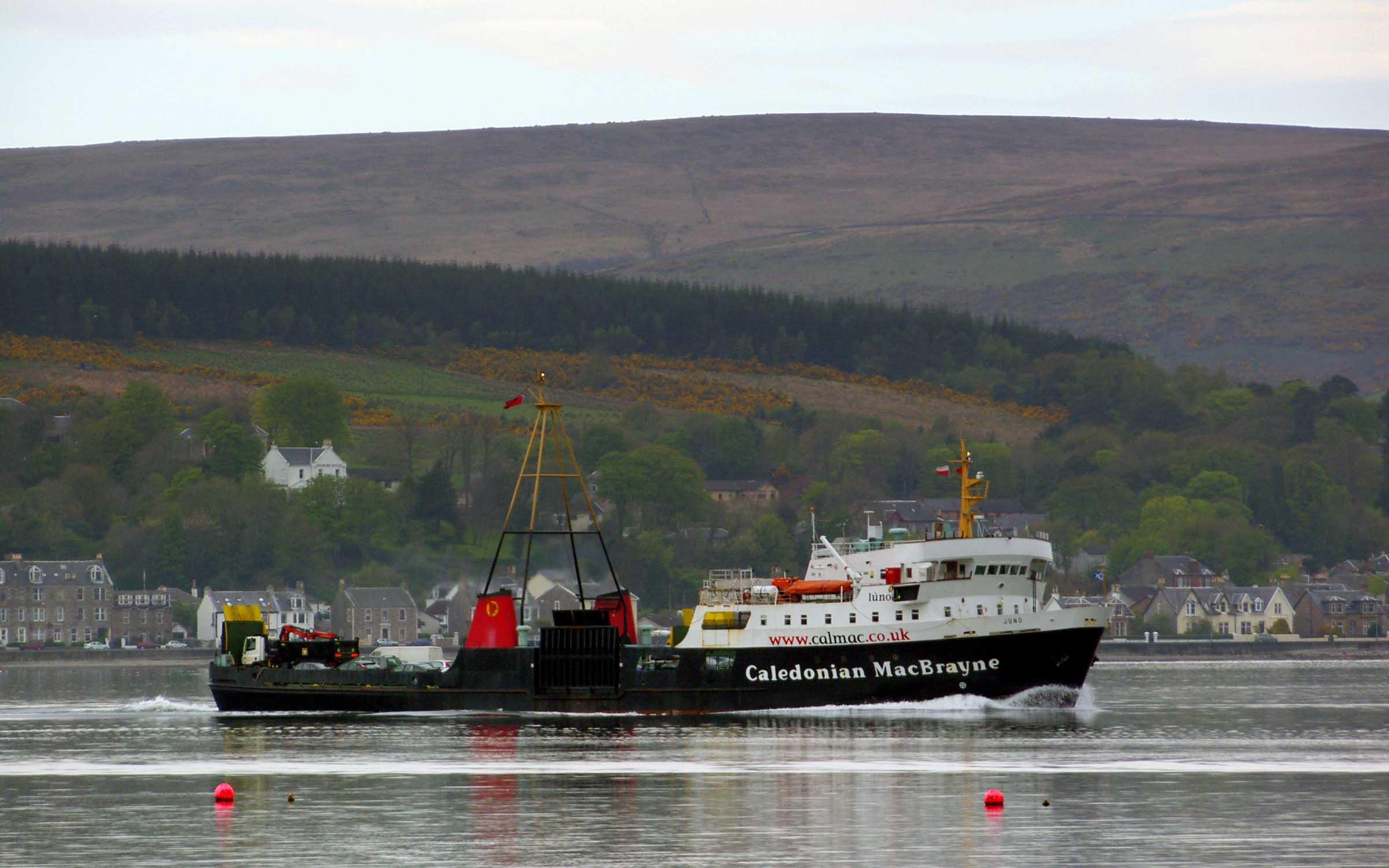 Juno in Rothesay Bay (Ships of CalMac)