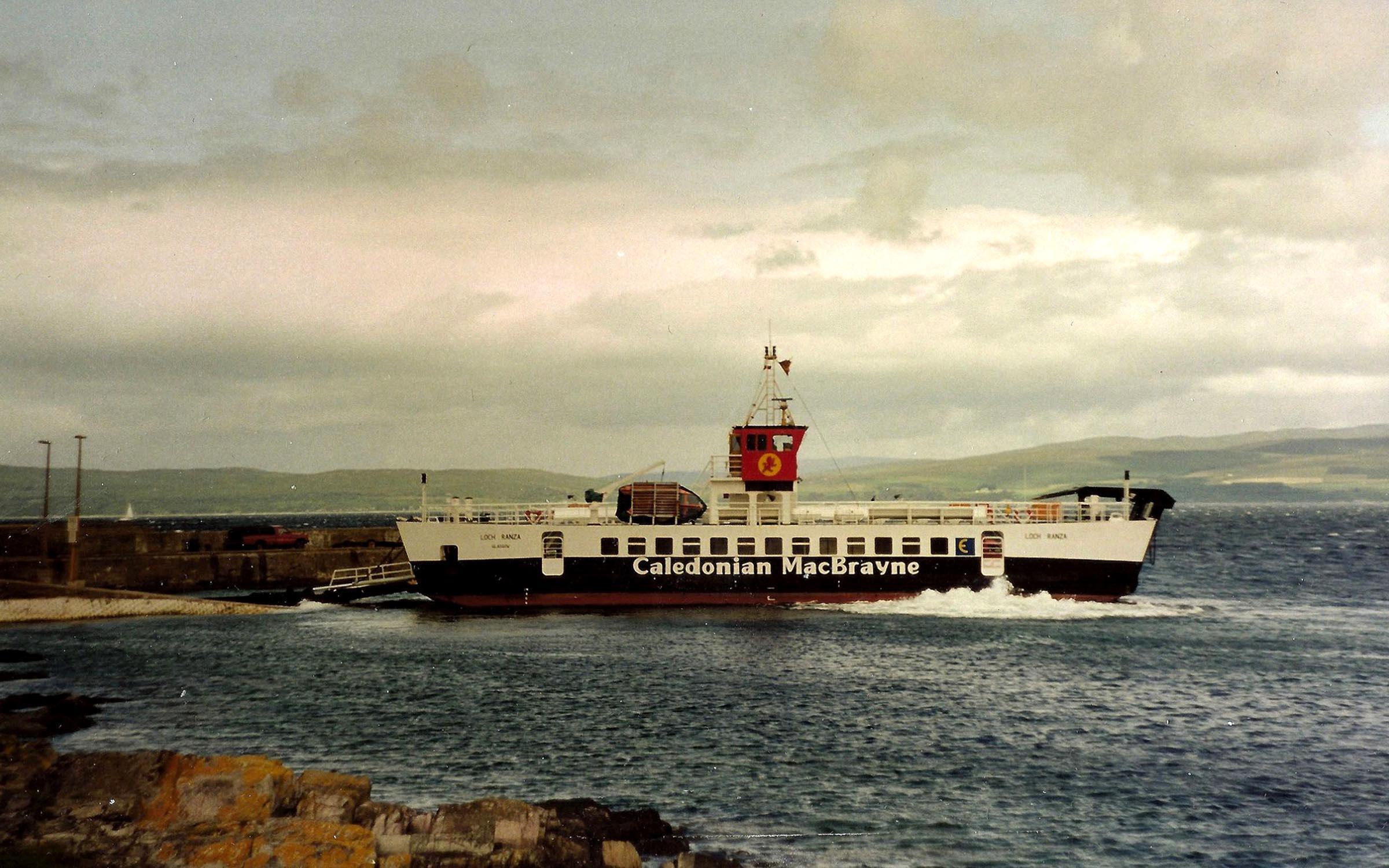 Loch Ranza new in service at Lochranza (Iain McPherson)